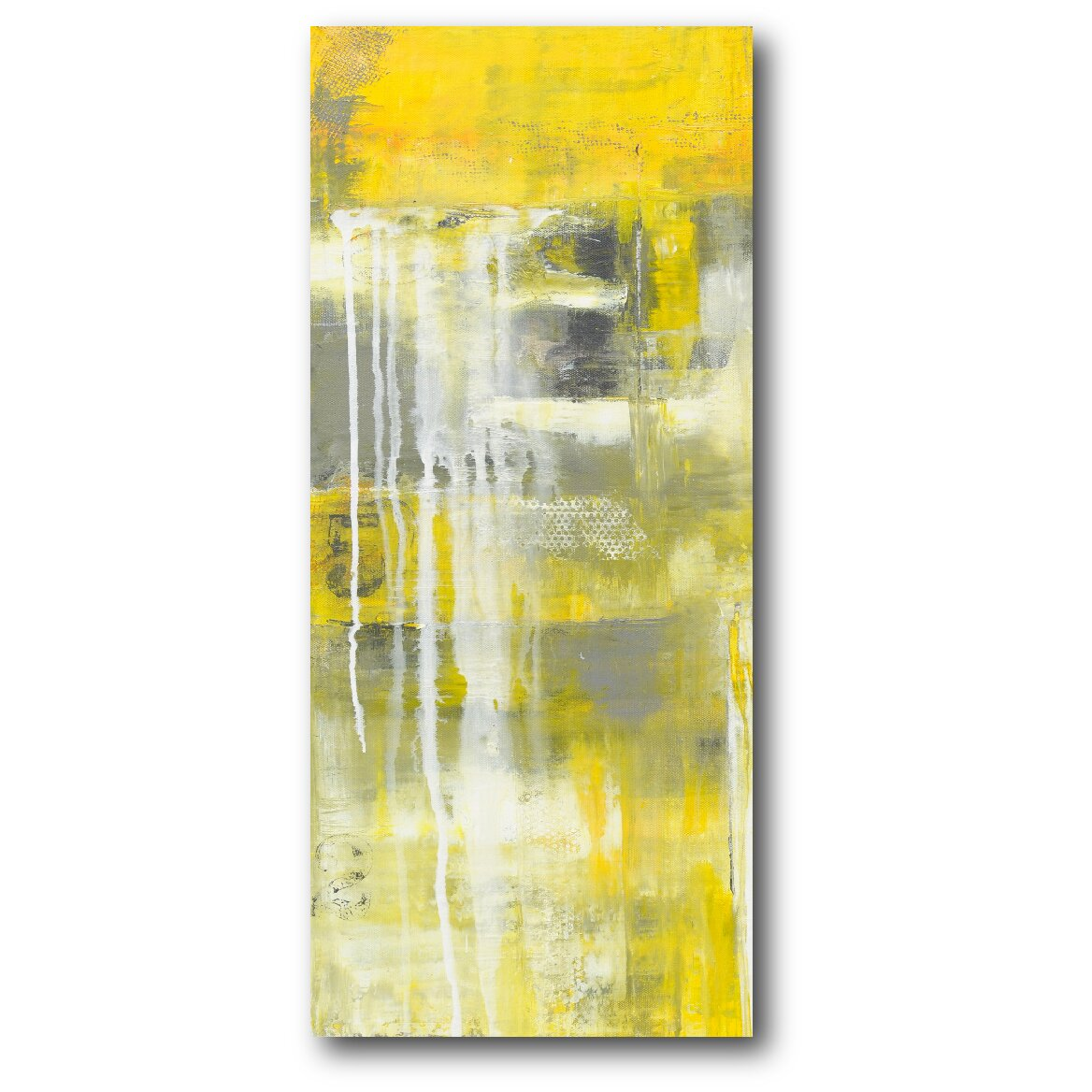Mellow Painting Print On Wrapped Canvas