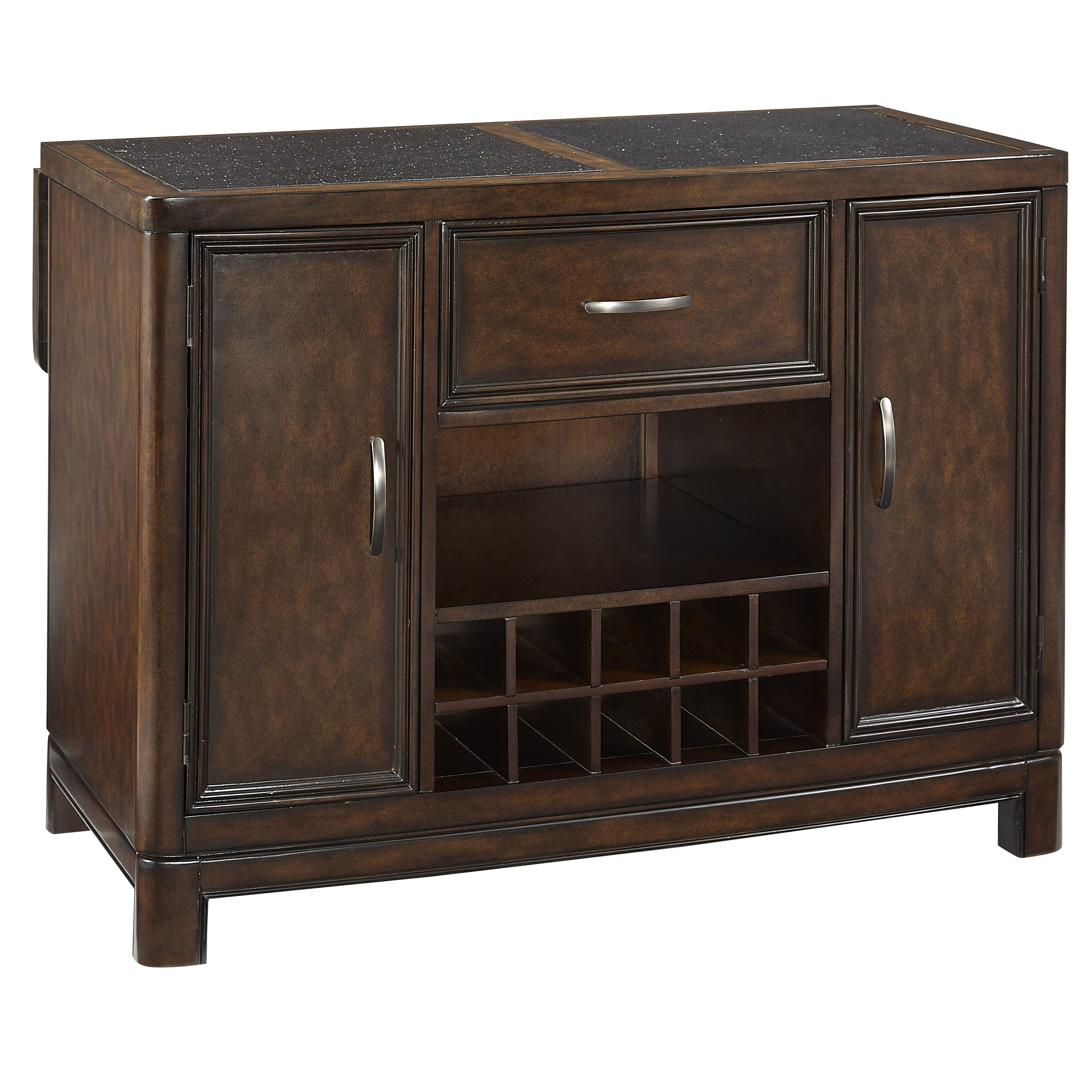 Kitchen Island Table With Granite Top Home Styles Crescent Hill Kitchen Island With Granite Top