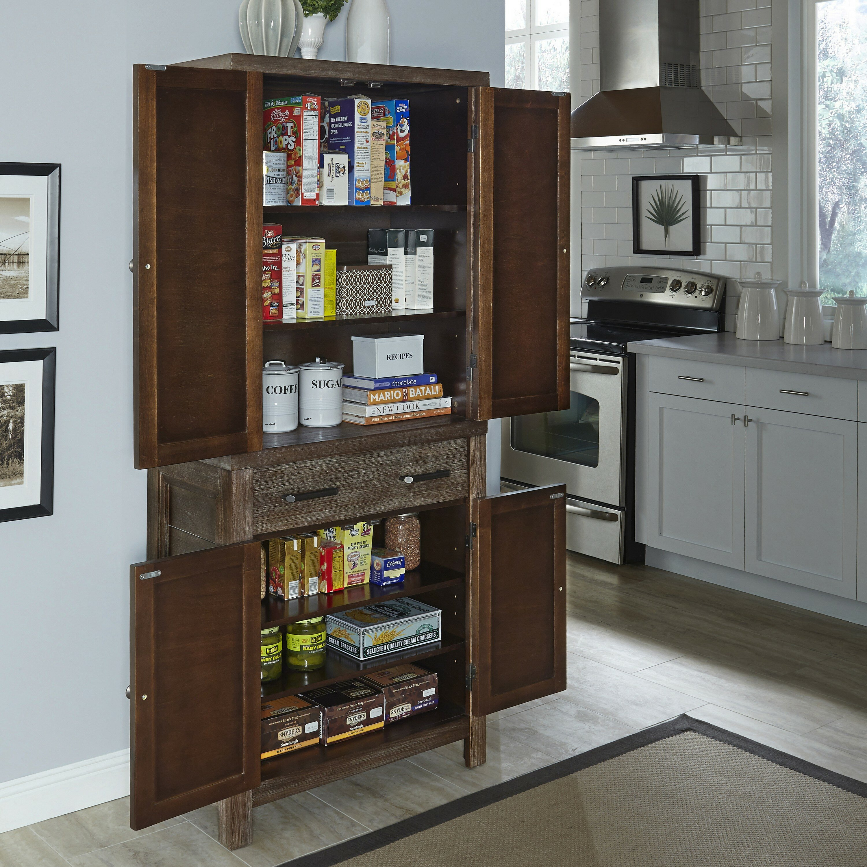 Furniture Kitchen Pantry Home Styles Barnside Kitchen Pantry Reviews Wayfair