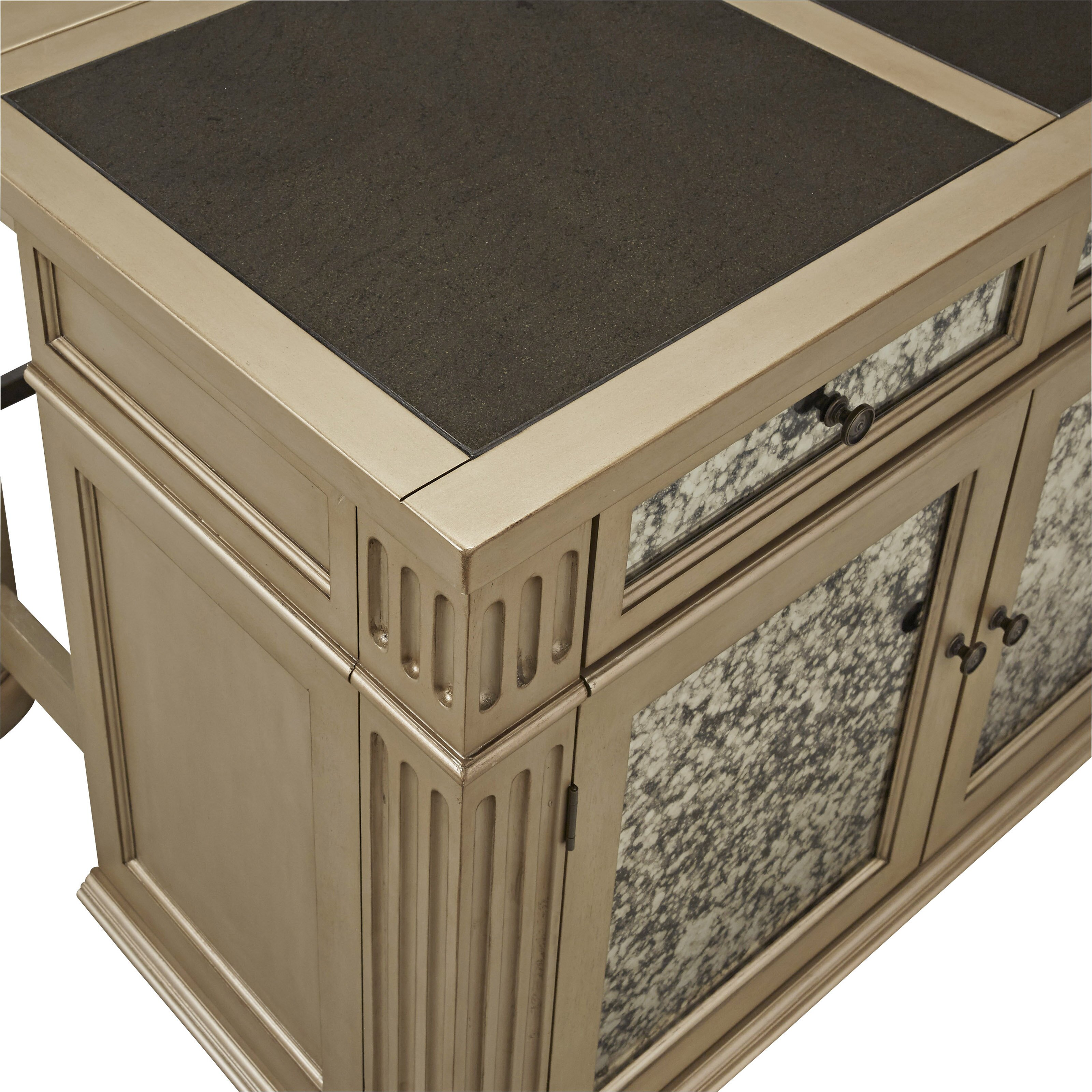 Kitchen Islands With Granite Tops Home Styles Visions Kitchen Island With Granite Top Wayfair