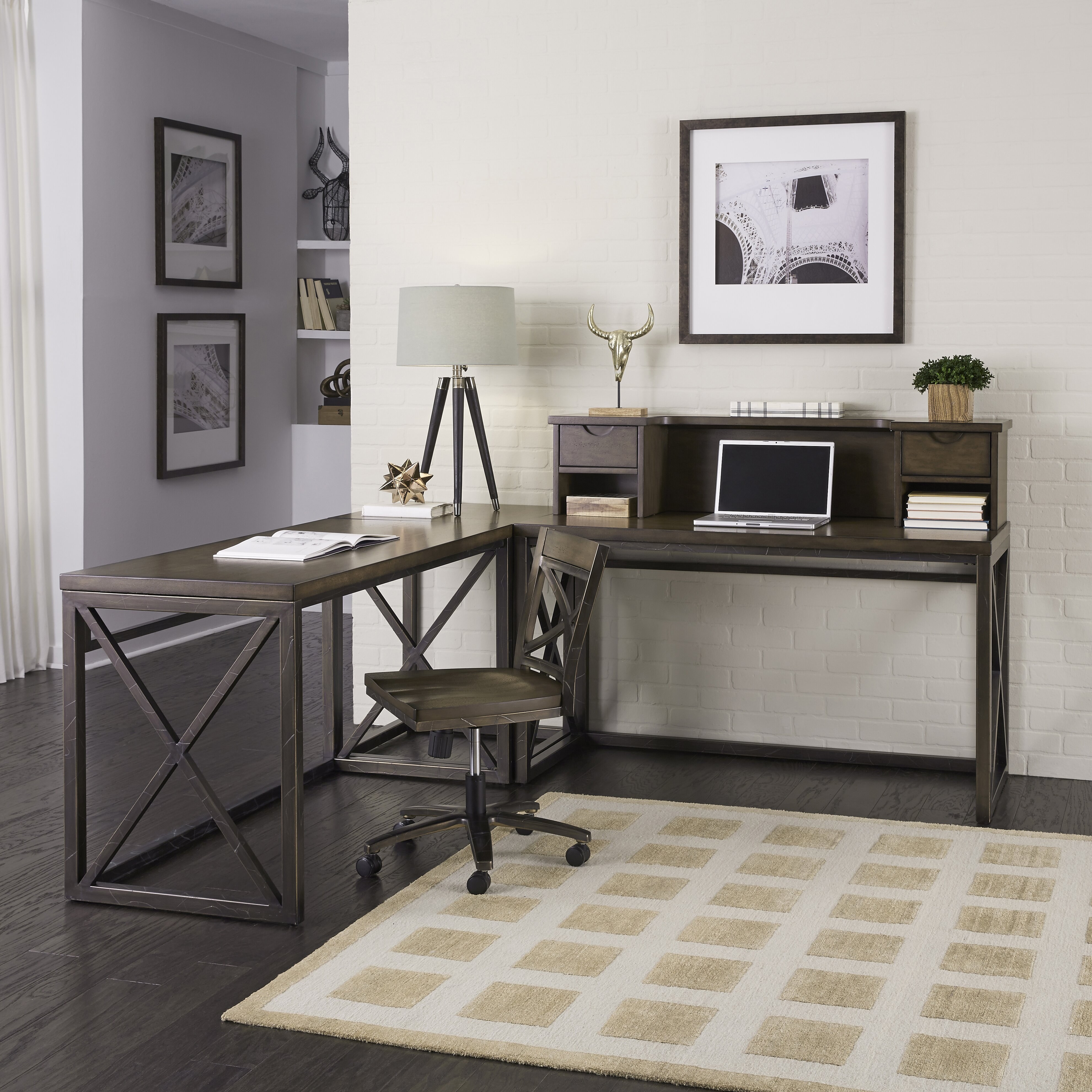 Home Styles Xcel L Writing Desk And Chair Set Wayfair. Full resolution  snapshot, nominally Width 3961 Height 3961 pixels, snapshot with #776B54.