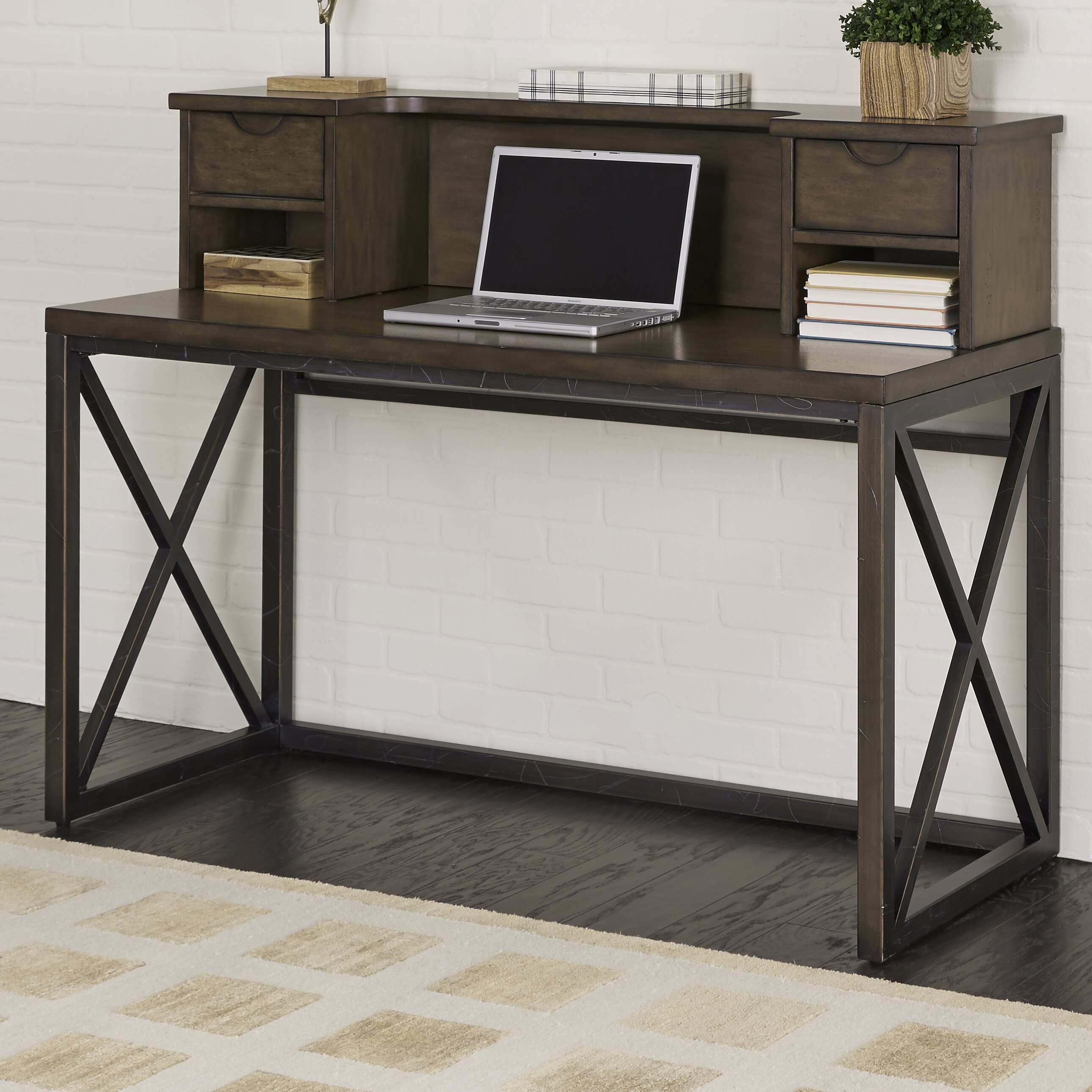 Homestyle Furniture Kitchener Home Styles Xcel Writing Desk With Hutch Wayfair