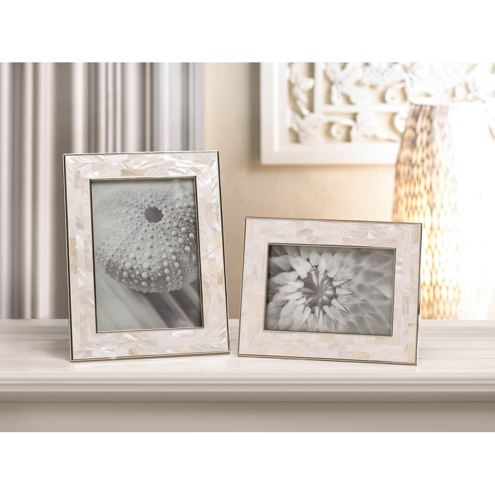 zingz thingz mother of pearl picture frame