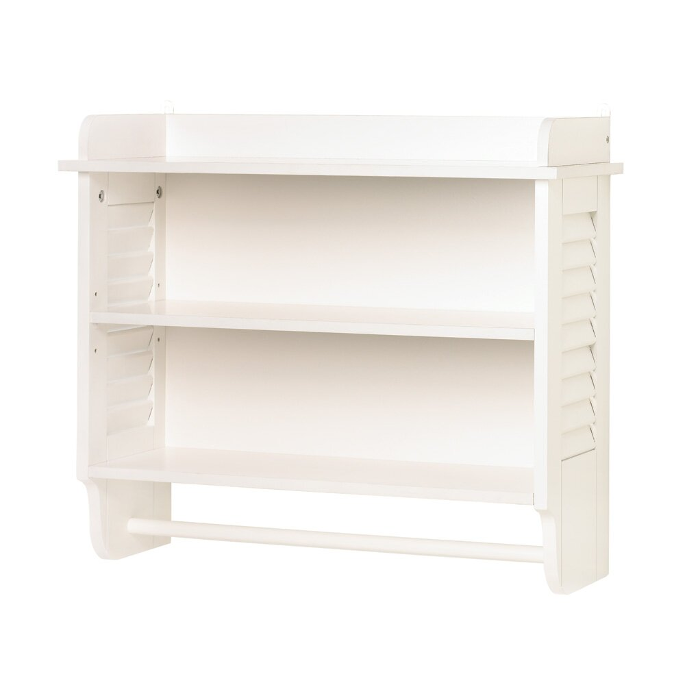 Bathroom Shelf Zingz Thingz Nantucket 2375 W Bathroom Shelf Reviews Wayfair