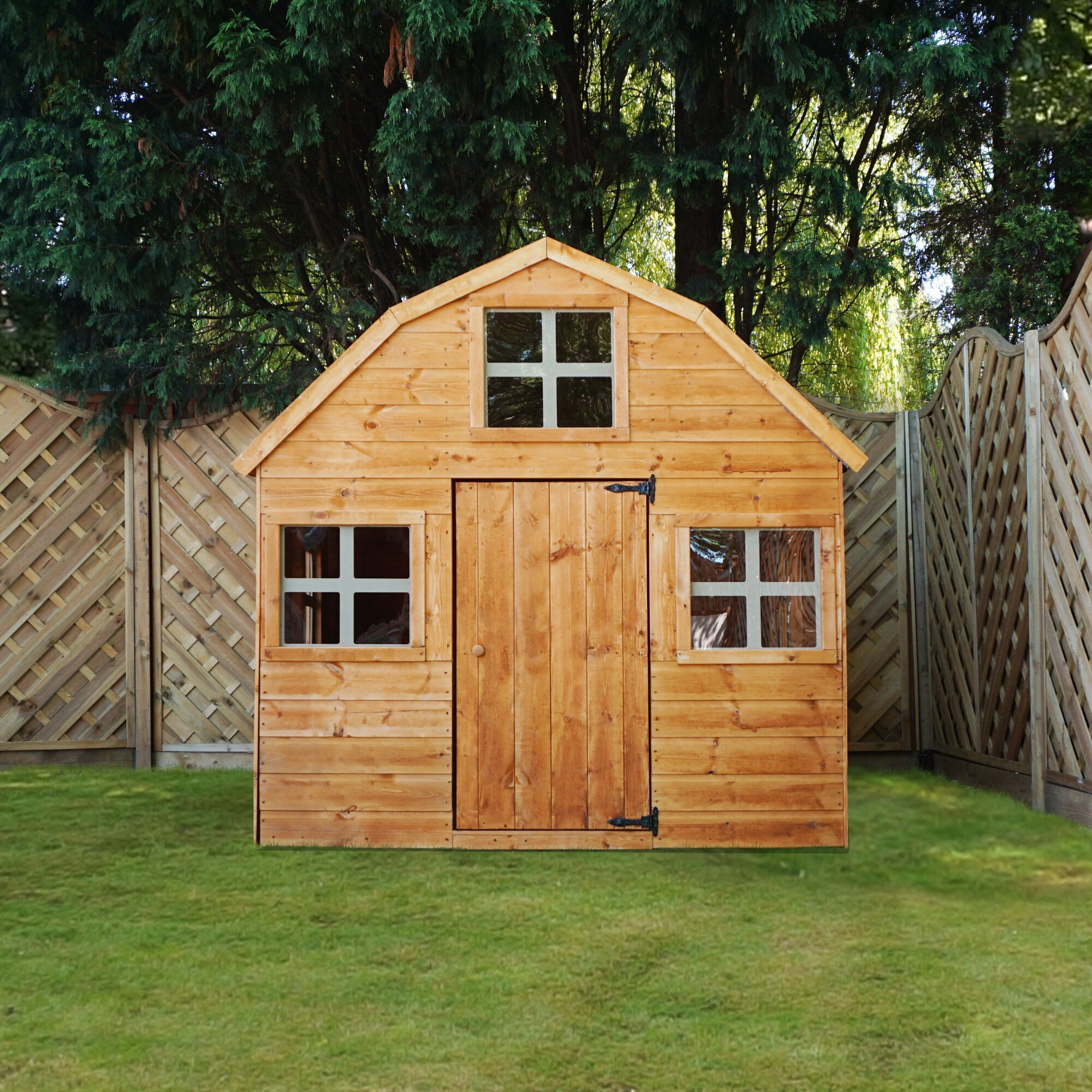 Mercia garden products dutch style playhouse reviews for Dutch playhouse