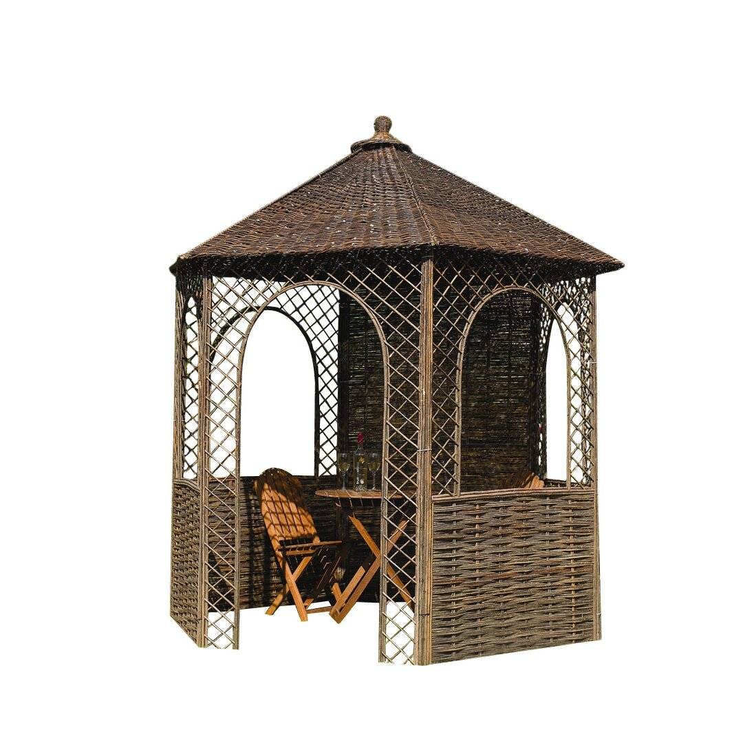 rowlinson willow x 2m wooden gazebo reviews. Black Bedroom Furniture Sets. Home Design Ideas