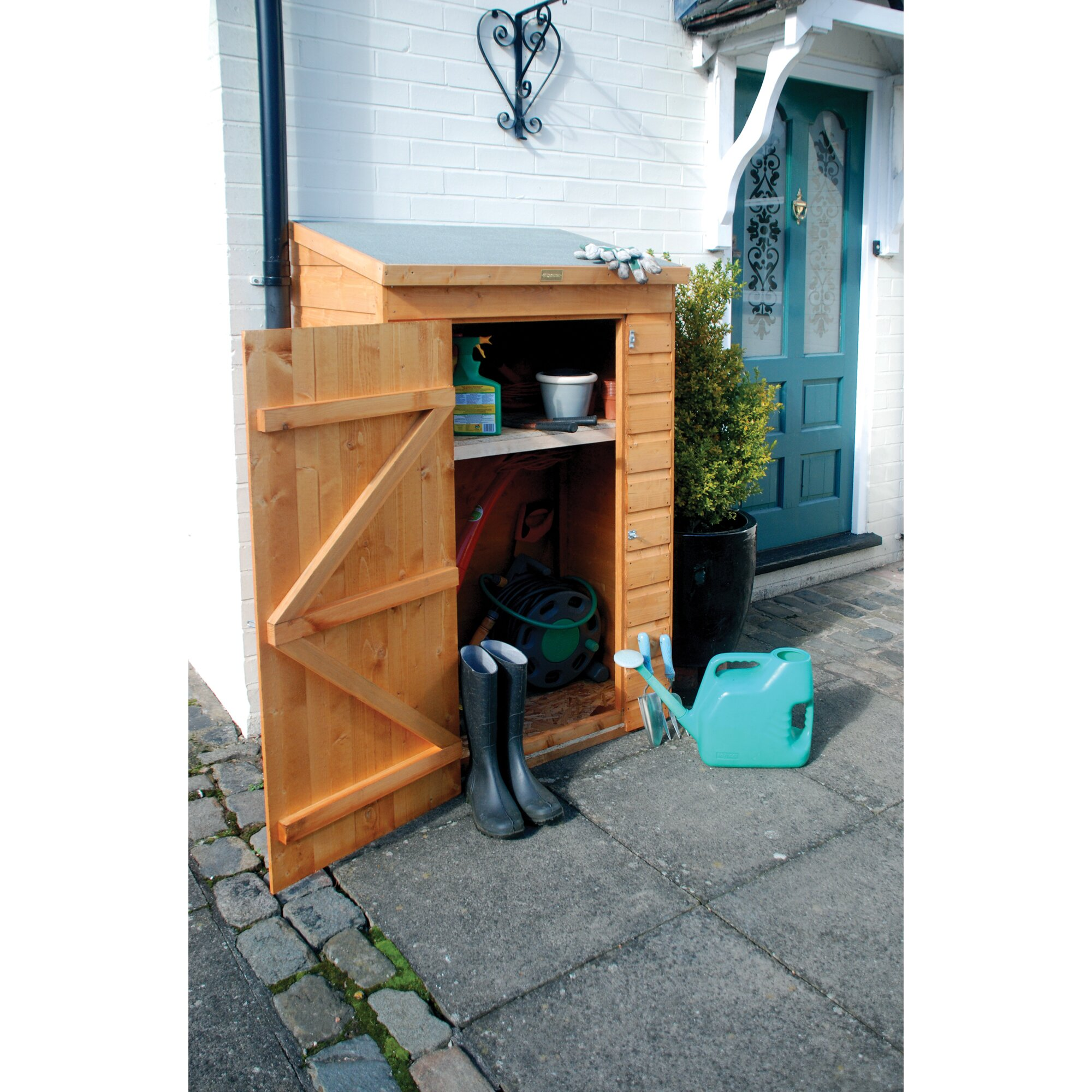 Rowlinson 3 Ft. x 2 Ft. Wooden Tool Shed & Reviews ...