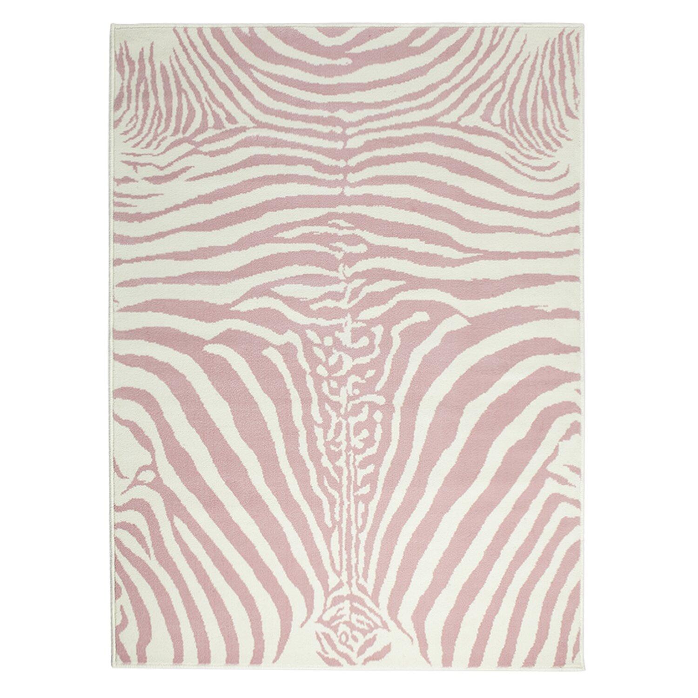 Lorena Canals Teppich Zebra in Rosa  Wayfairde