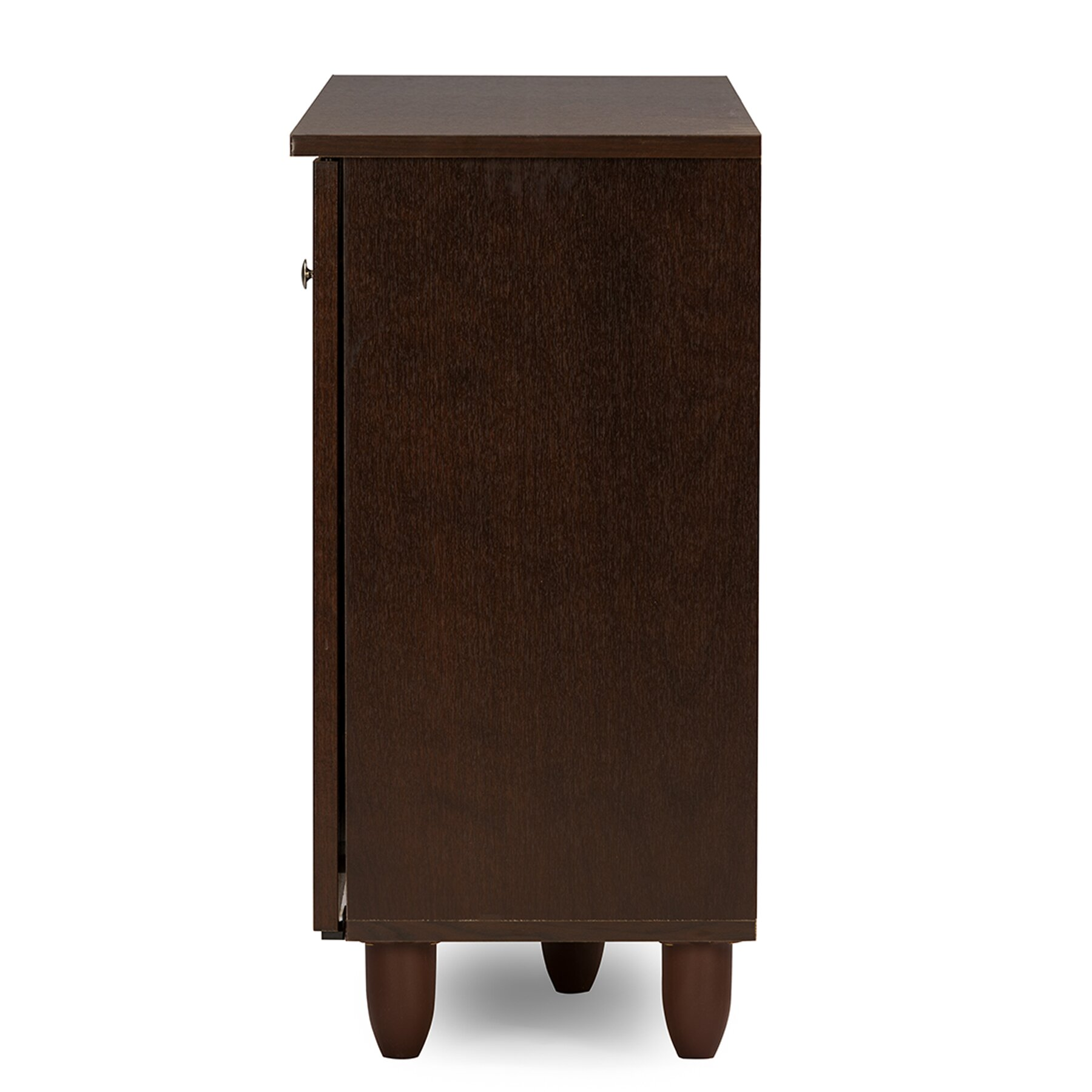 Wholesale Interiors Baxton Studio Winda 12-Pair Shoe Storage Cabinet & Reviews | Wayfair