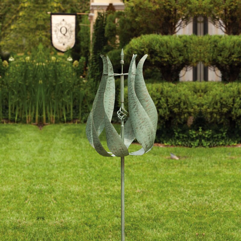 Evergreen Flag Garden Tulip Kinetic Garden Stake Reviews Wayfair