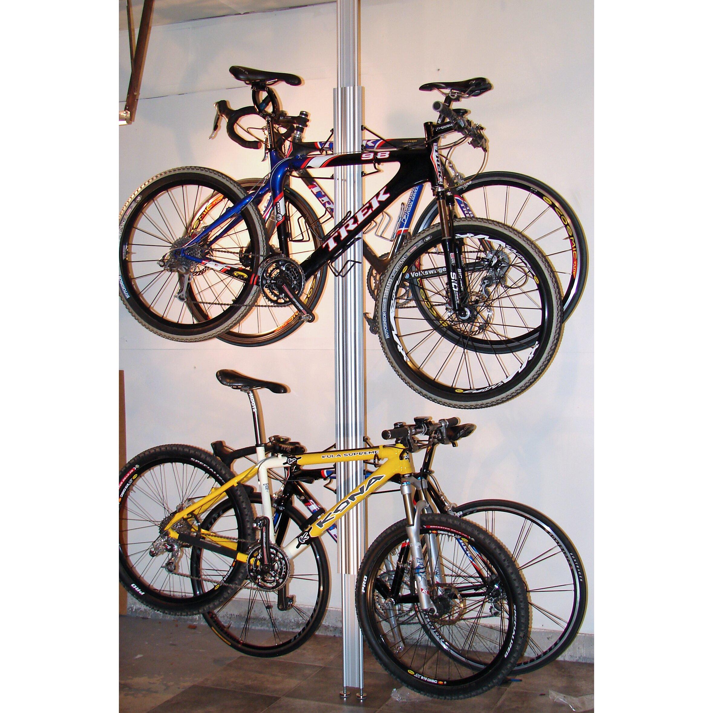 gear up inc signature series 4 bike storage ceiling. Black Bedroom Furniture Sets. Home Design Ideas