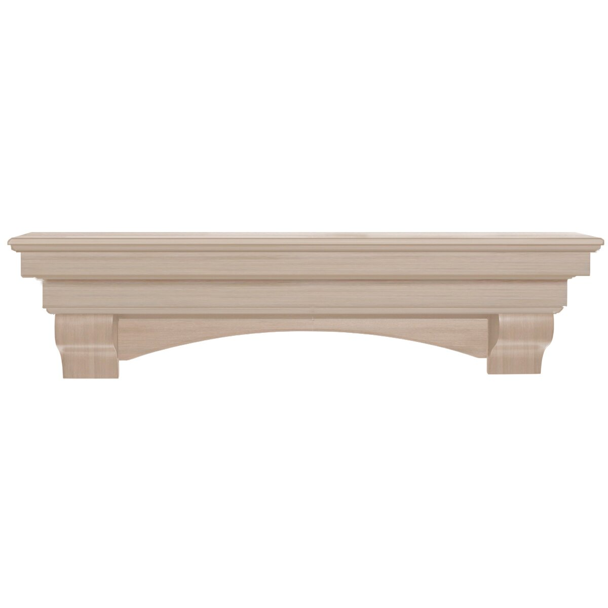 Pearl Mantels Auburn Fireplace Mantel Shelf - Pearl Mantels Auburn Fireplace Mantel Shelf & Reviews Wayfair