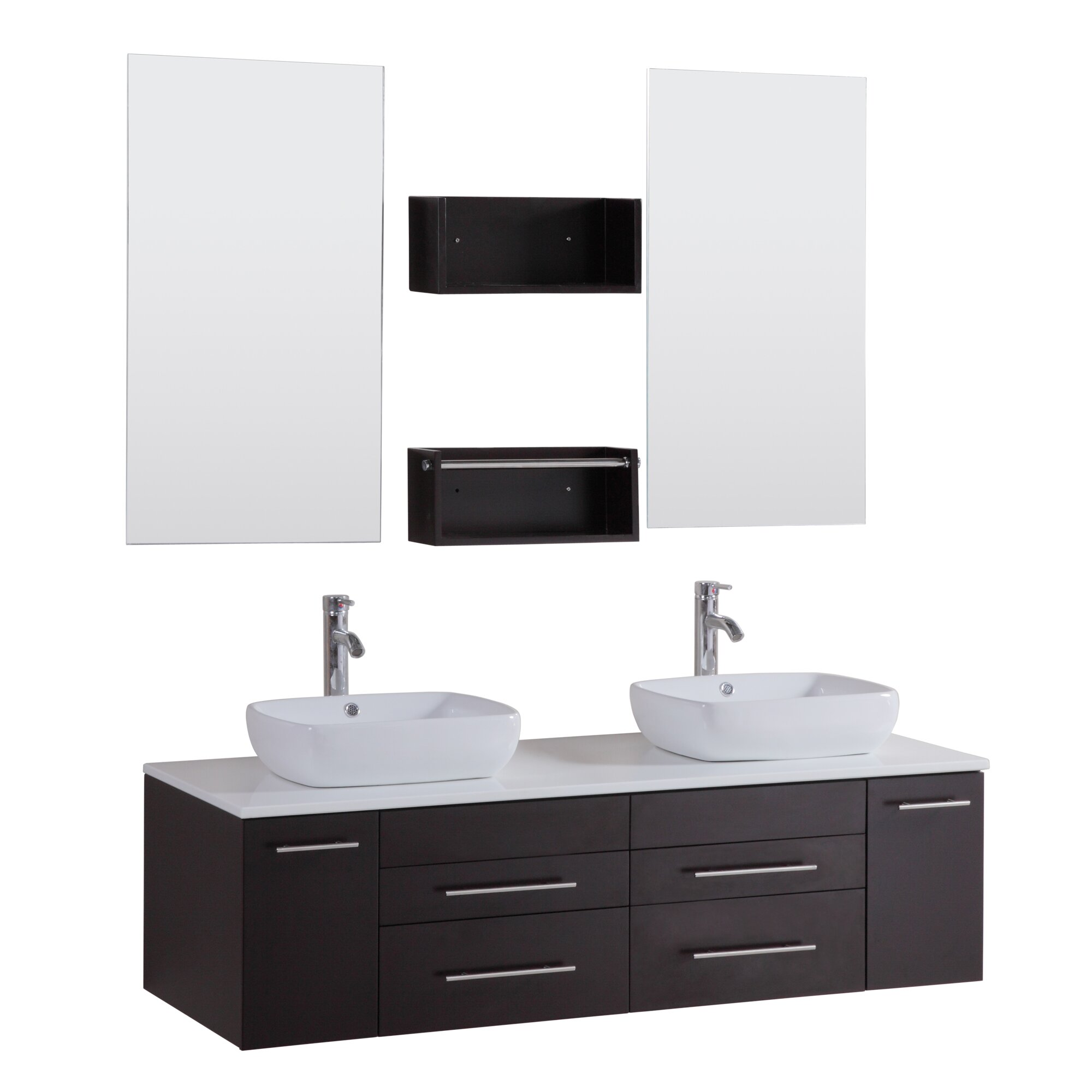 Floating Bathroom Cabinet dact