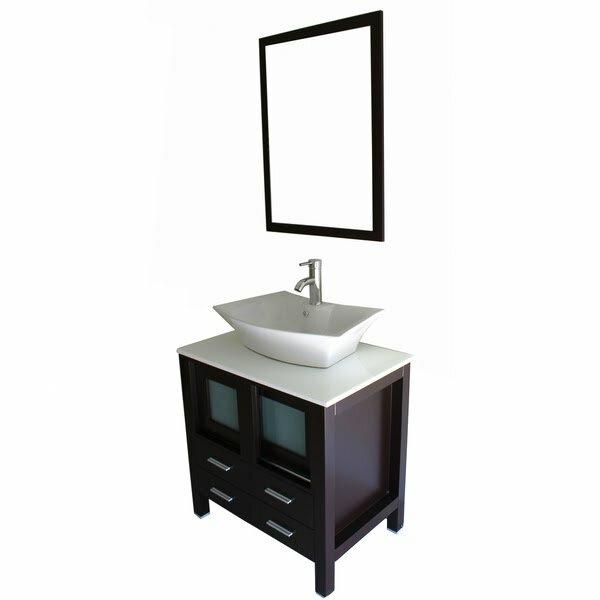 Kokols 30 Single Bathroom Vanity Set with Mirror Reviews – Bathroom Vanity and Mirror Set