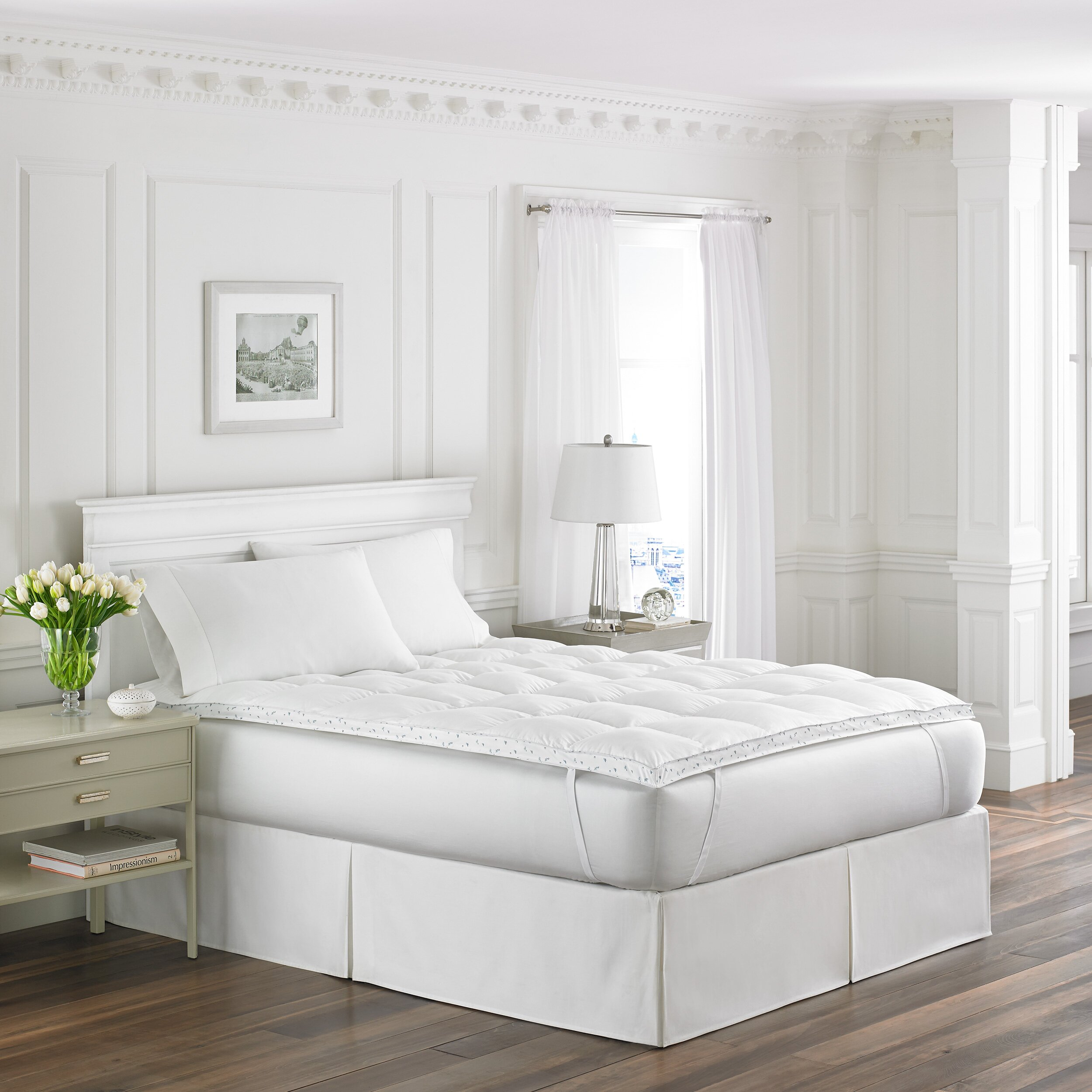 Laura Ashley Bedroom Wallpaper Laura Ashley Home Abbeville Fiber Bed Reviews Wayfair
