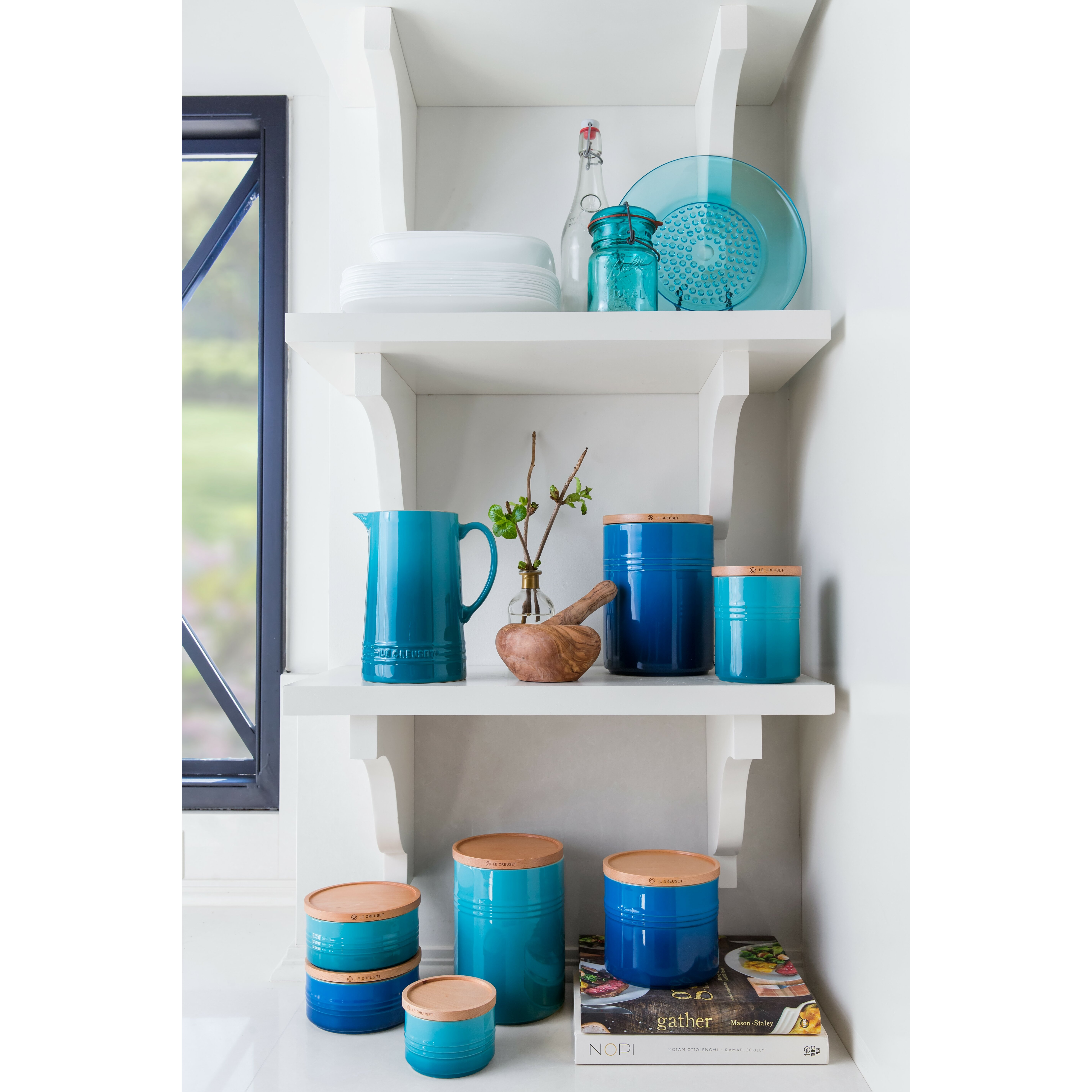 kitchen canisters blue good blue canisters for kitchen with