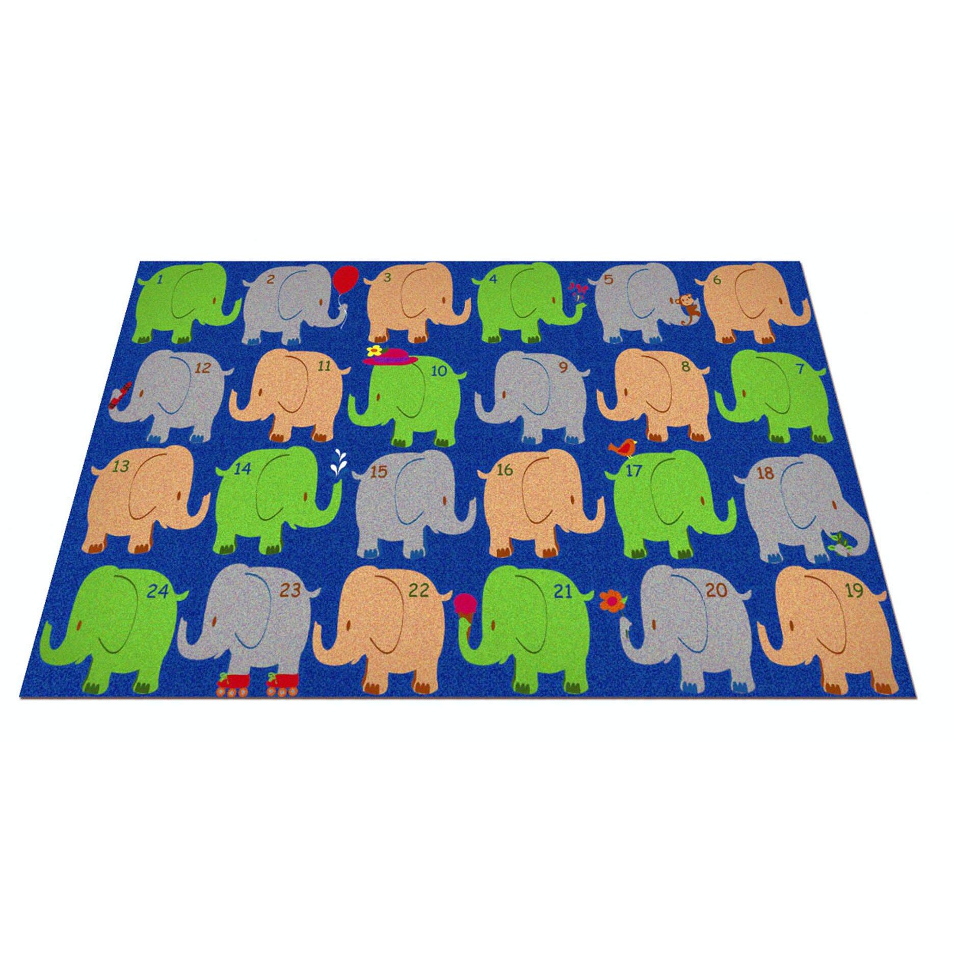 Fun Rugs Fun Time World Map Classroom Area Rug Kid Carpet Elephant Seating  Classroom Area Rug