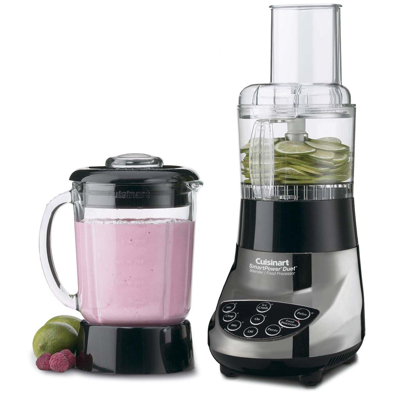 Cuisinart smartpower duet blender and food processor - Cuisinart Smartpower Duet Blender Food Processor