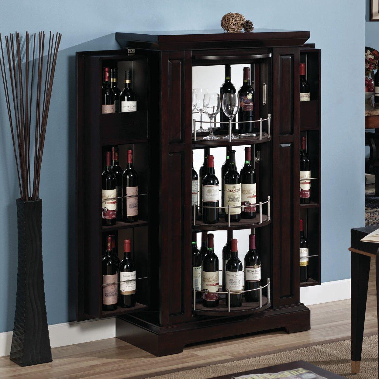 Tresanti Metro Bar Cabinet With Wine Storage Amp Reviews