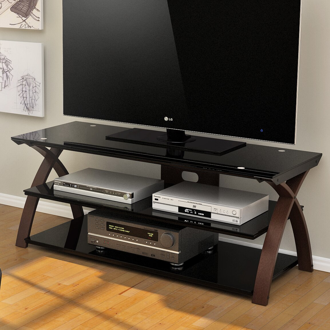 Tv Stand Designs Price : Z line designs cannen tv stand reviews wayfair