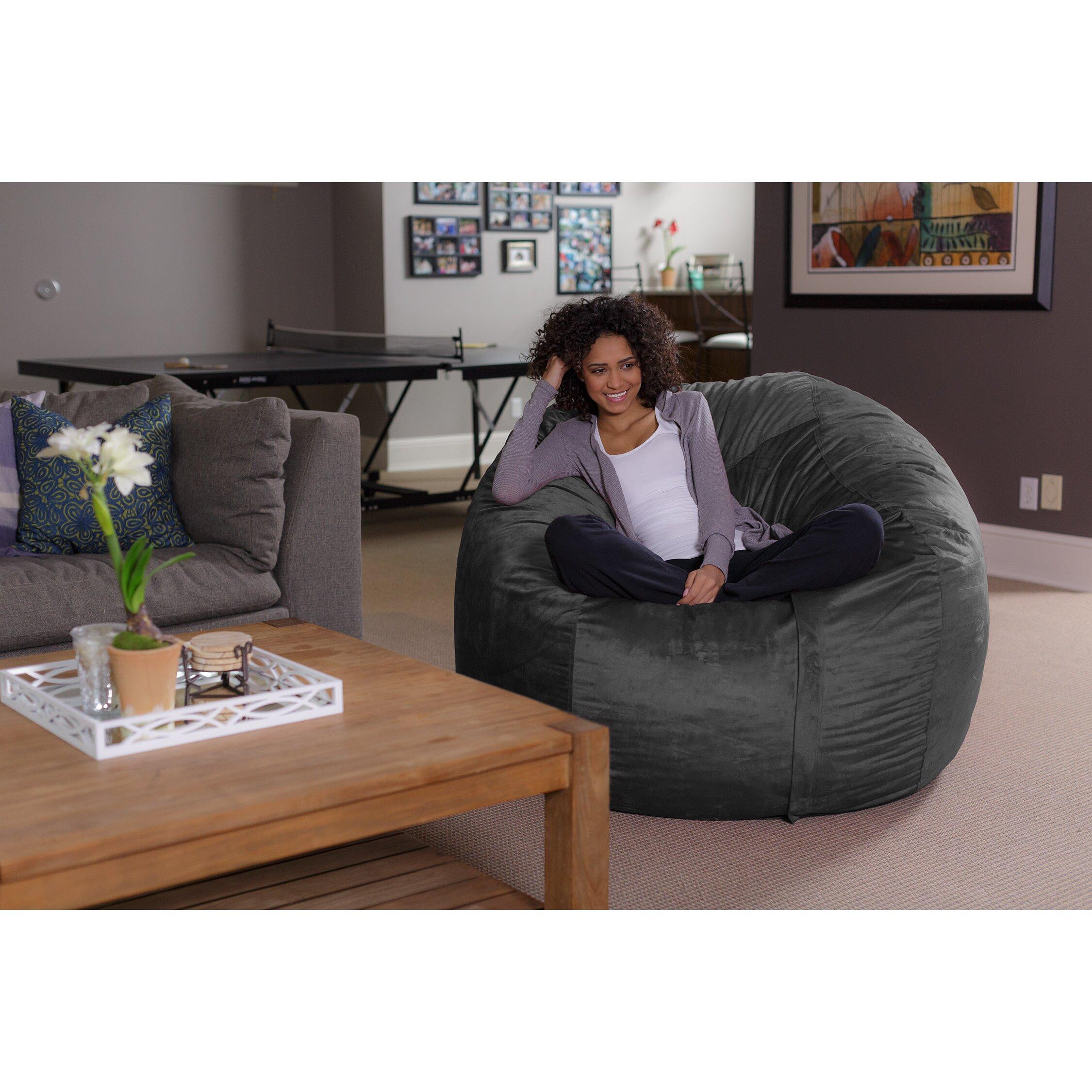 Sesame Street Flip Open Sofa With Slumber Bag