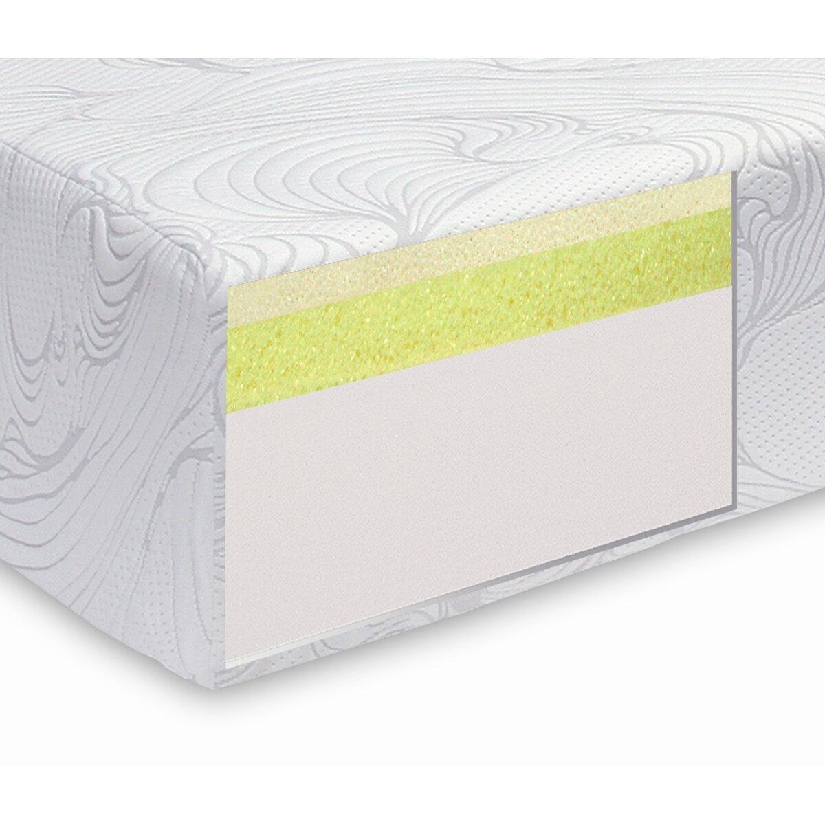 "Tobia Natural Sleep Gemma 10"" Plush Memory Foam Mattress"