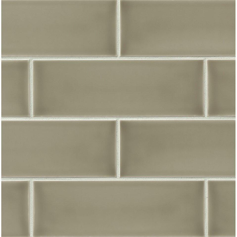 Bedrosians Grace 4 Quot X 12 Quot Ceramic Subway Tile In Ecru
