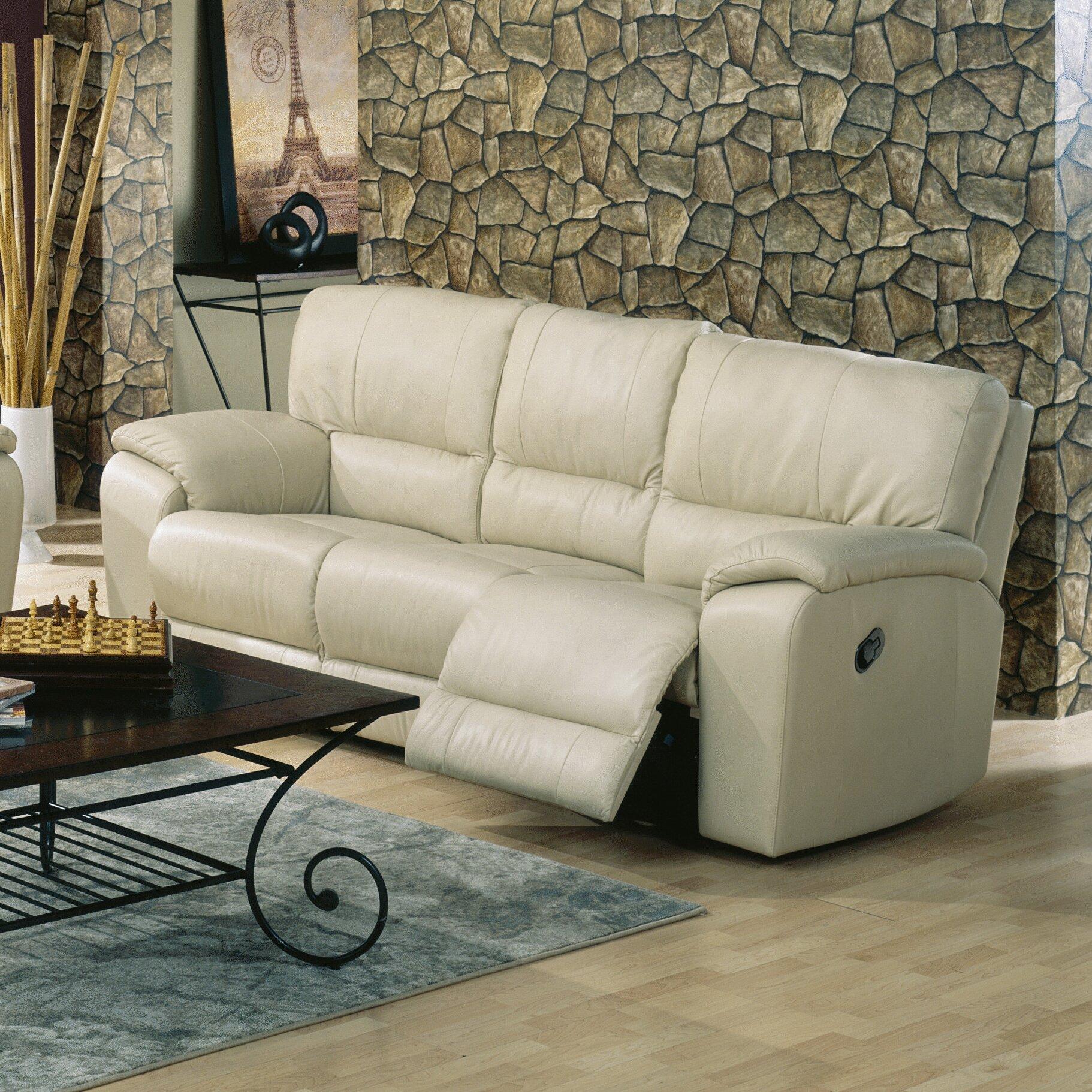Palliser Leather Reclining Sofa Reviews: Palliser Furniture Shields Reclining Sofa & Reviews
