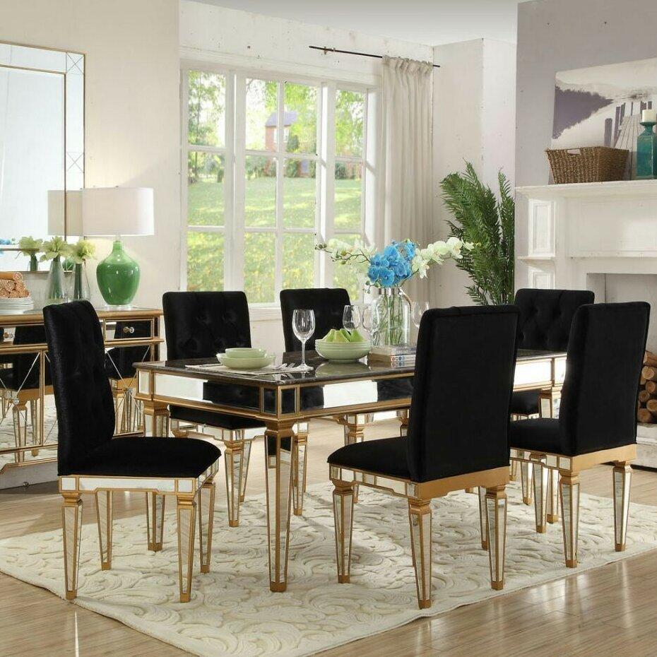 Singer Furniture Dining Room Chair Set Of 6 Ebth Set Of 6 Dining ...