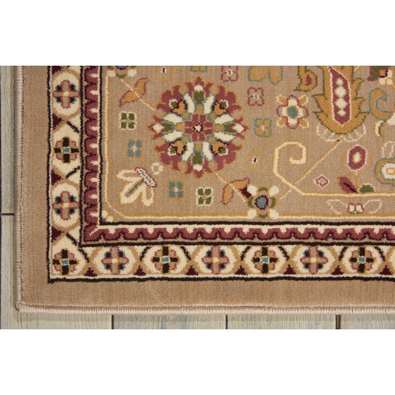 Kathy Ireland Home Gallery Antiquities Beige Area Rug