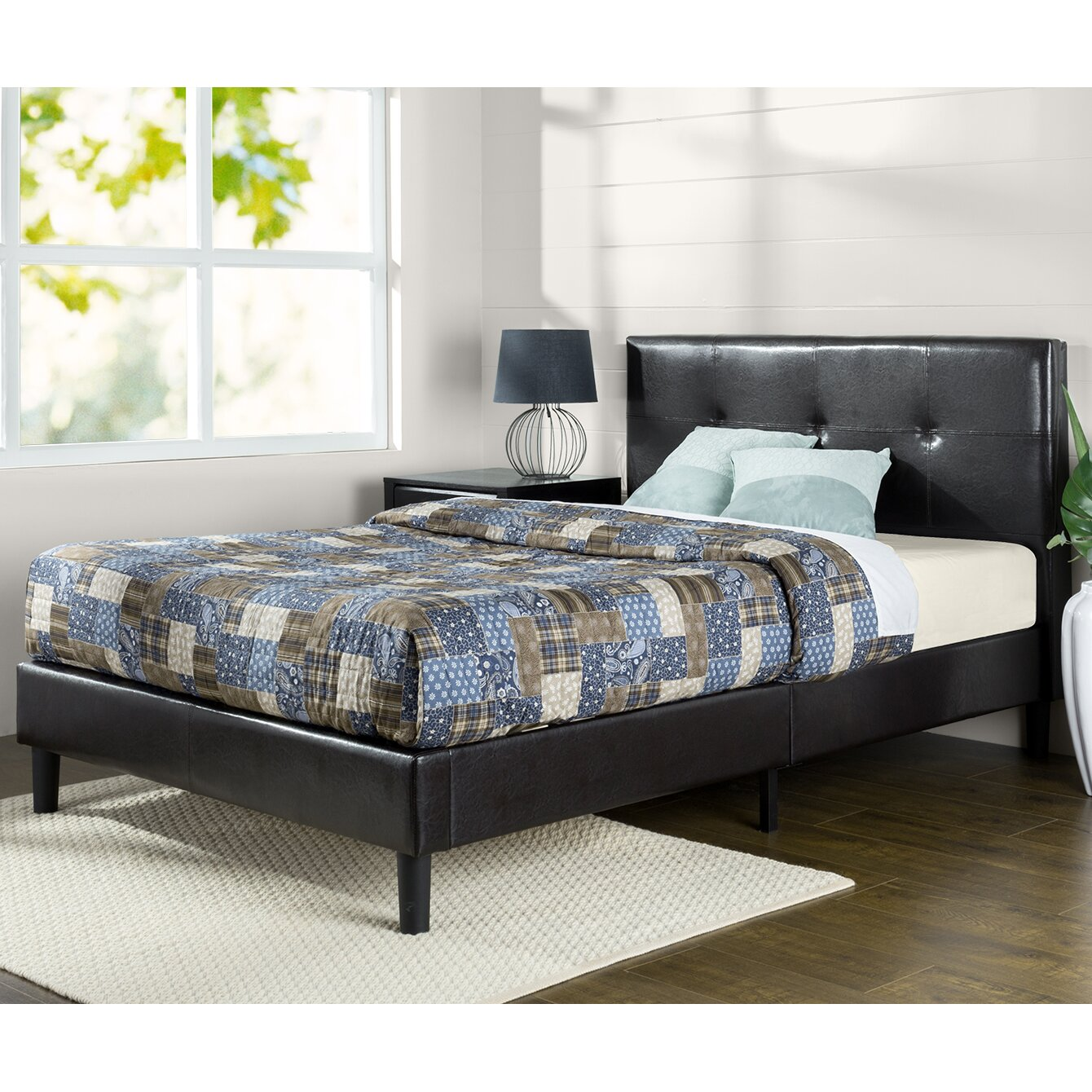 Zinus Classic Platform Bed Zinus Classic Platform Bed Wayfair Zinus Brown Fabric  Beds Between Sleeps. Poster Zinus Grey Beds   cpgworkflow com