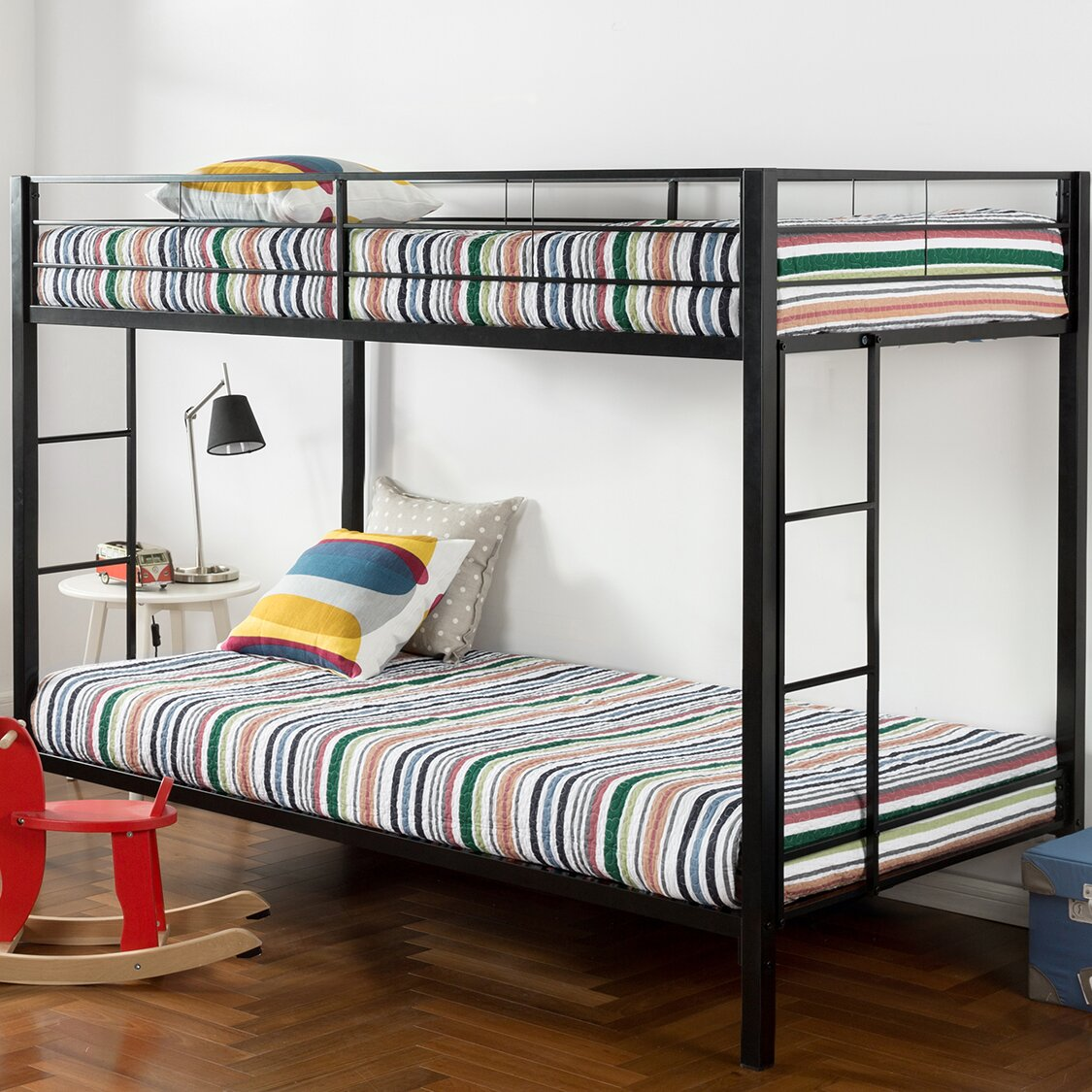 Canada S Best Mattress Metal Twin Over Twin Bunk Bed