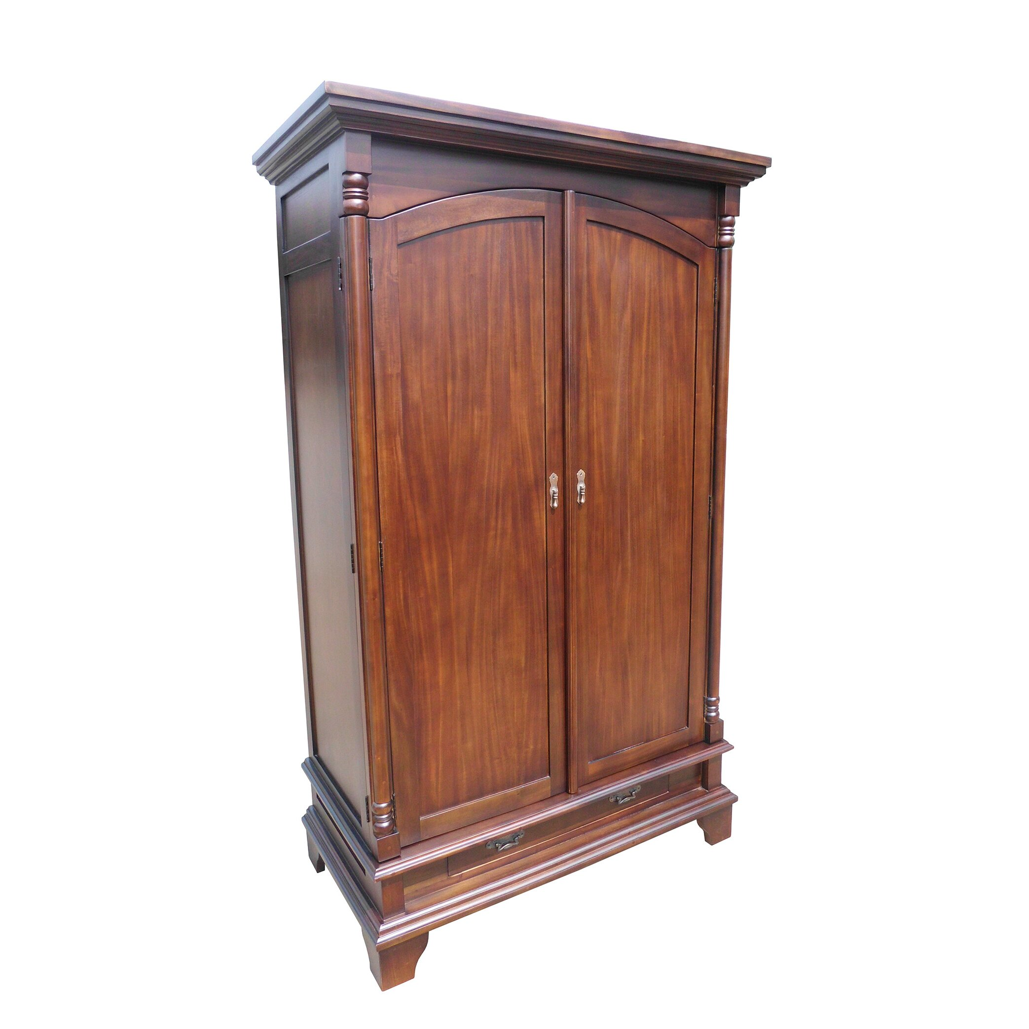 d art collection armoire entertainment center reviews wayfair. Black Bedroom Furniture Sets. Home Design Ideas