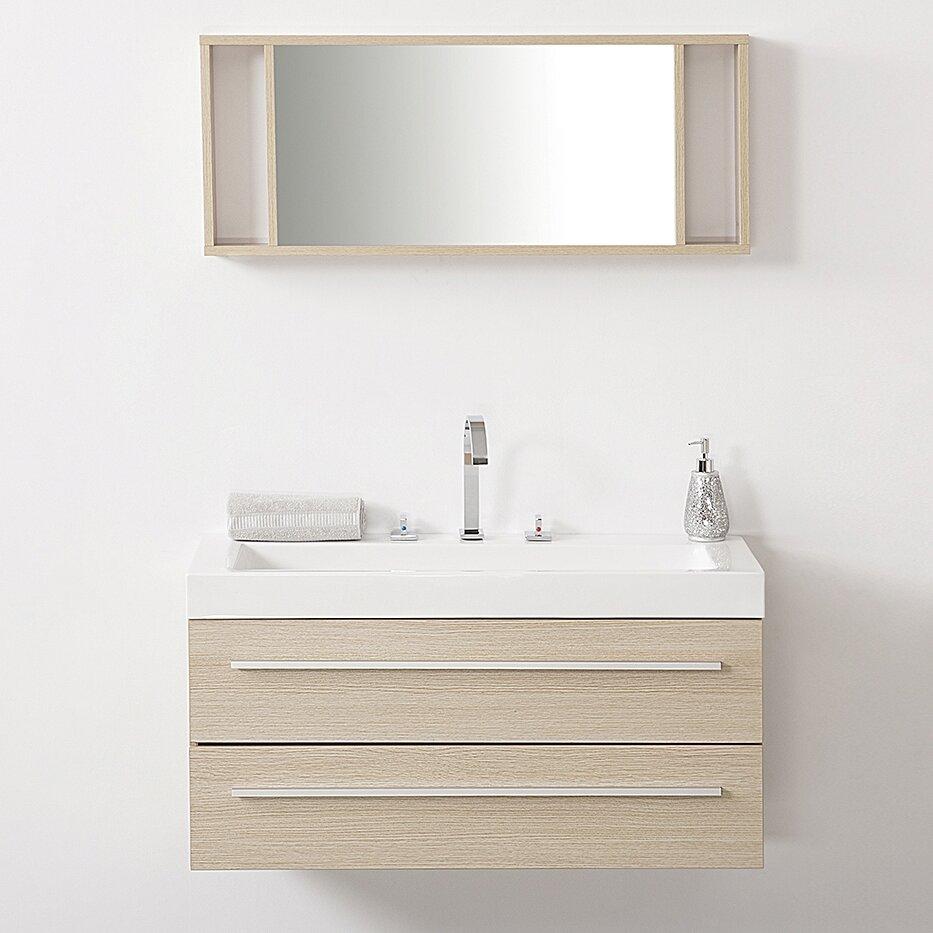 Luxury  Chelsey 26in Bathroom Vanity With Beige Marble Top  ATG Stores