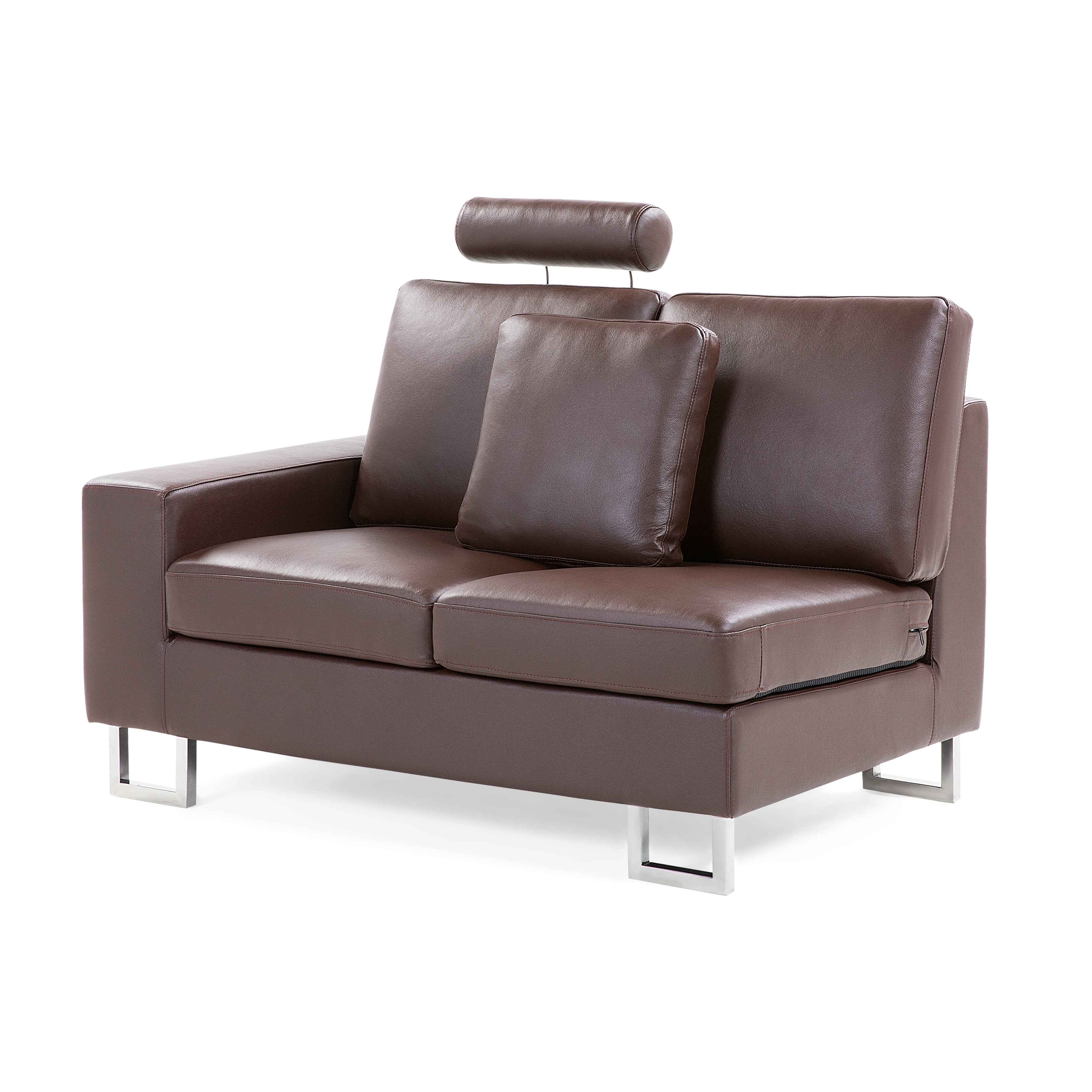 Beliani Stockholm Leather Sectional Reviews Wayfair Supply