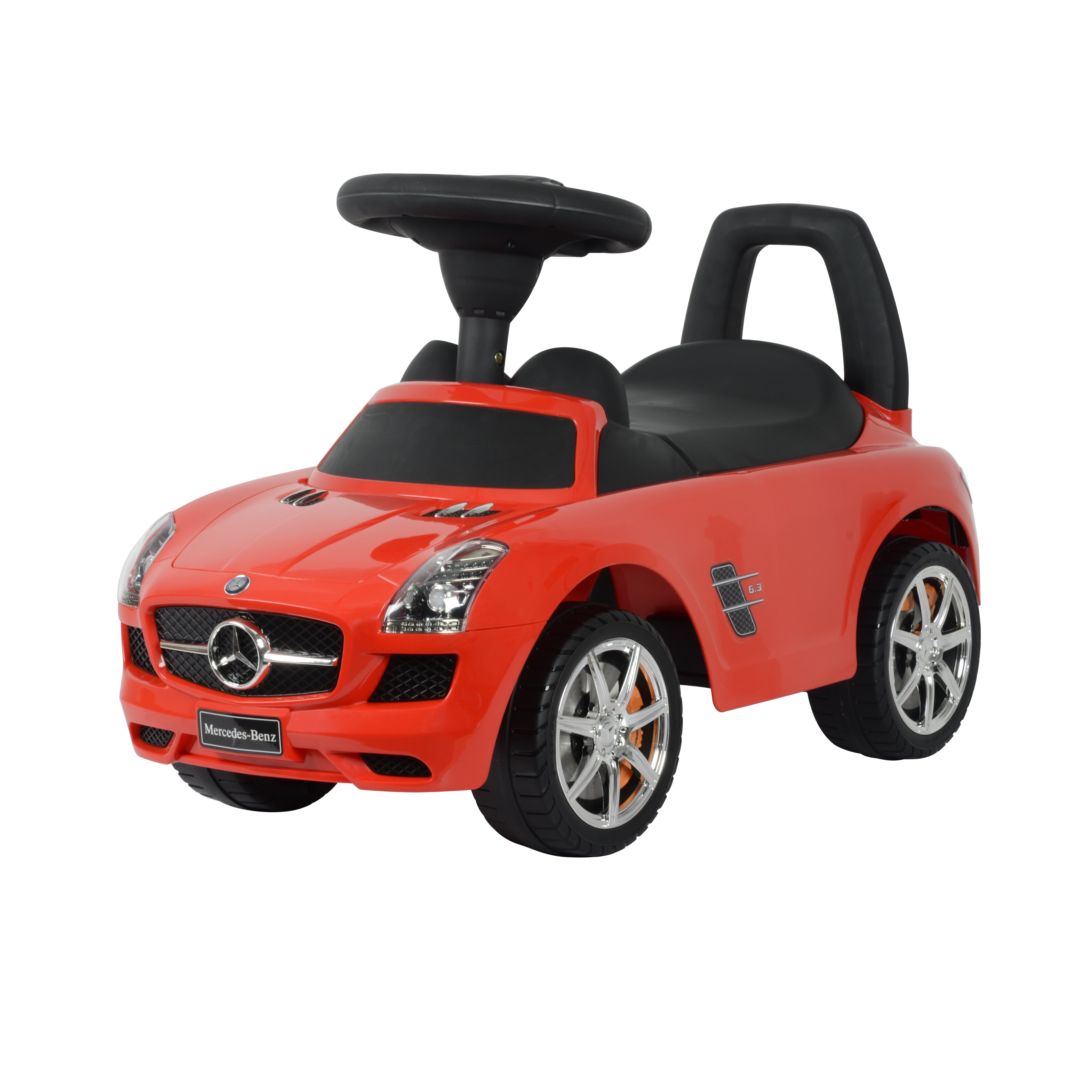 Best Ride On Cars Mercedes SLS Push Car &amp Reviews Wayfair - Kitchen Cabinet Discounts
