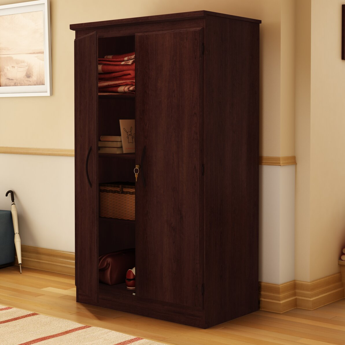 Corner Wall Cabinet Organizer Office Storage Cabinets Youll Love Wayfair