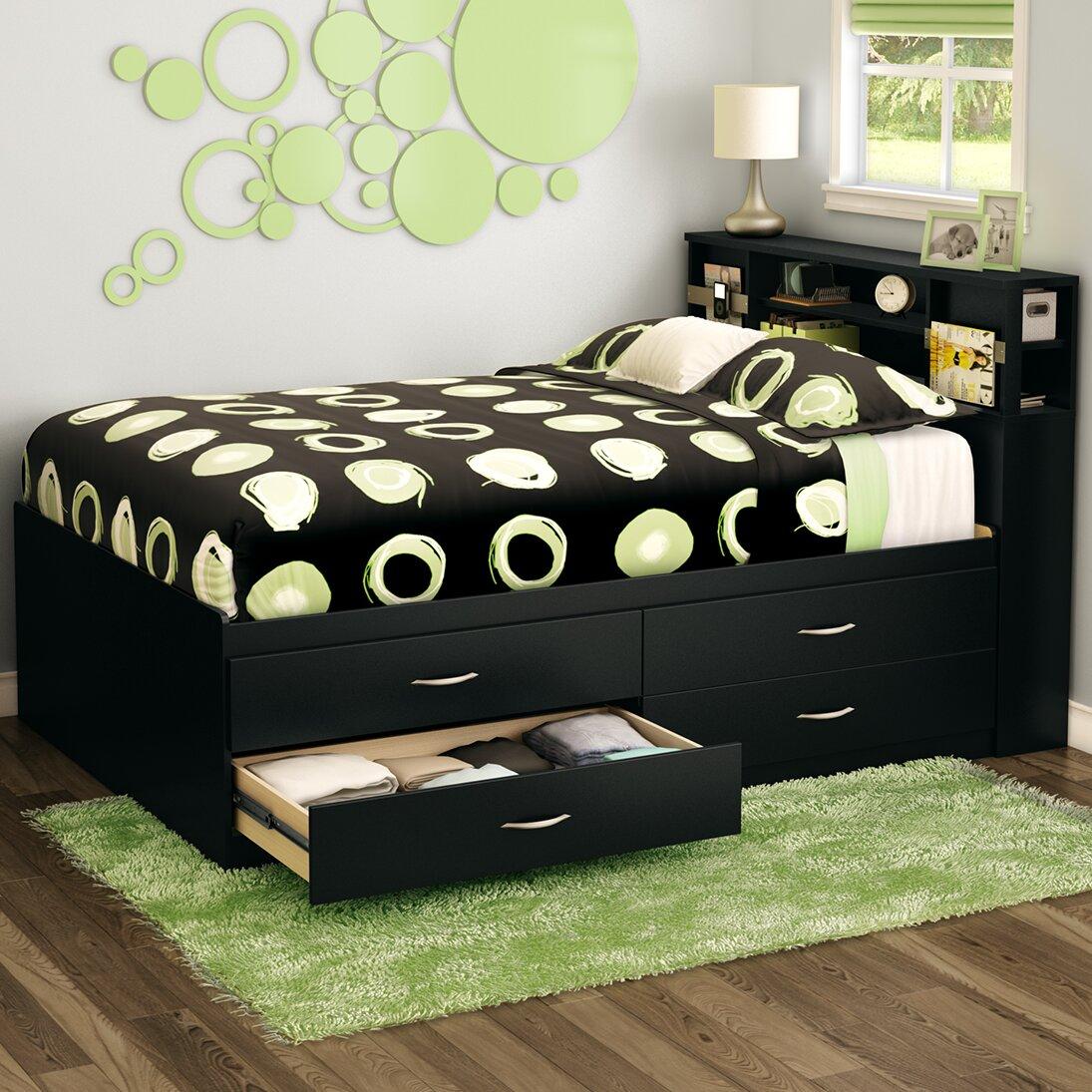 Stuff your stuff platform bed - South Shore Full Storage Platform Bed Stuff Your Stuff Platform Bed