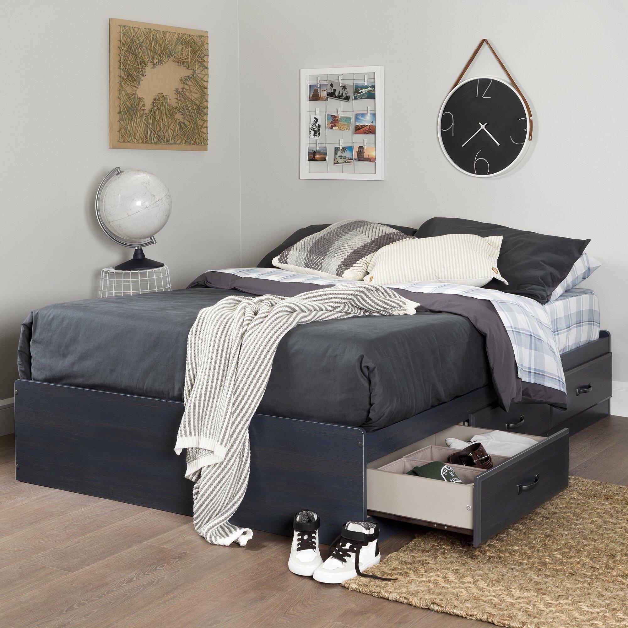 south shore ulysses bed frame