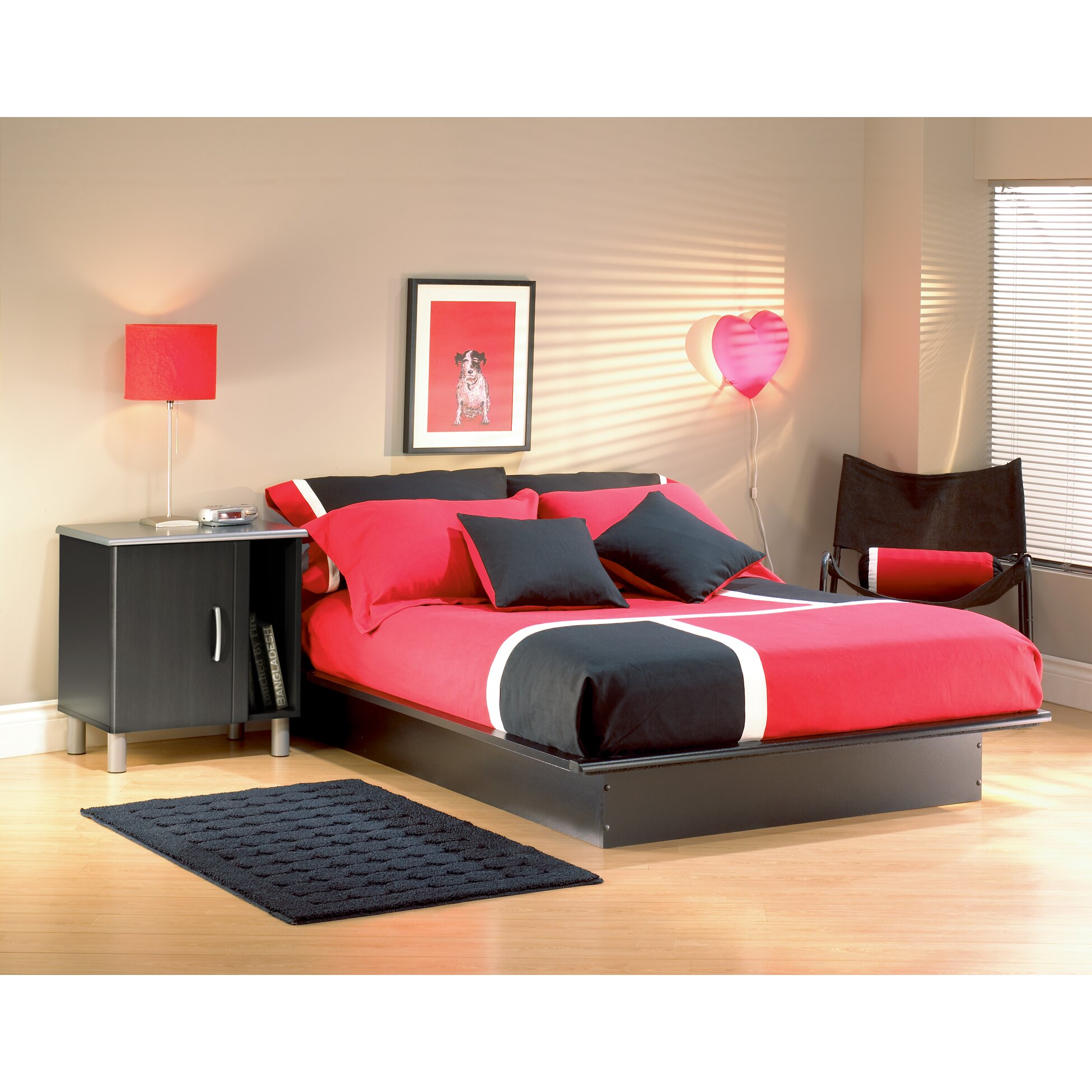 south shore lexington platform bed