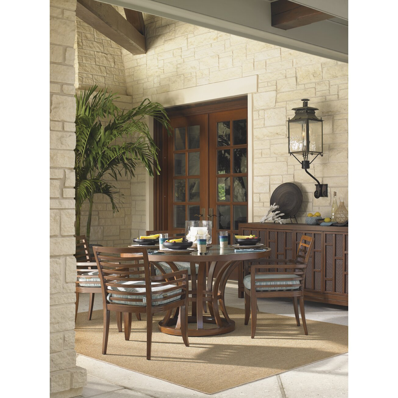 Tommy Bahama Kitchen Table Tommy Bahama Outdoor Ocean Club Pacifica Dining Arm Chair Wayfair