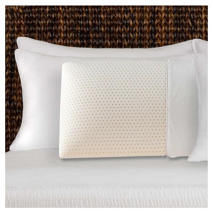 Simmons authentic talalay latex foam pillow