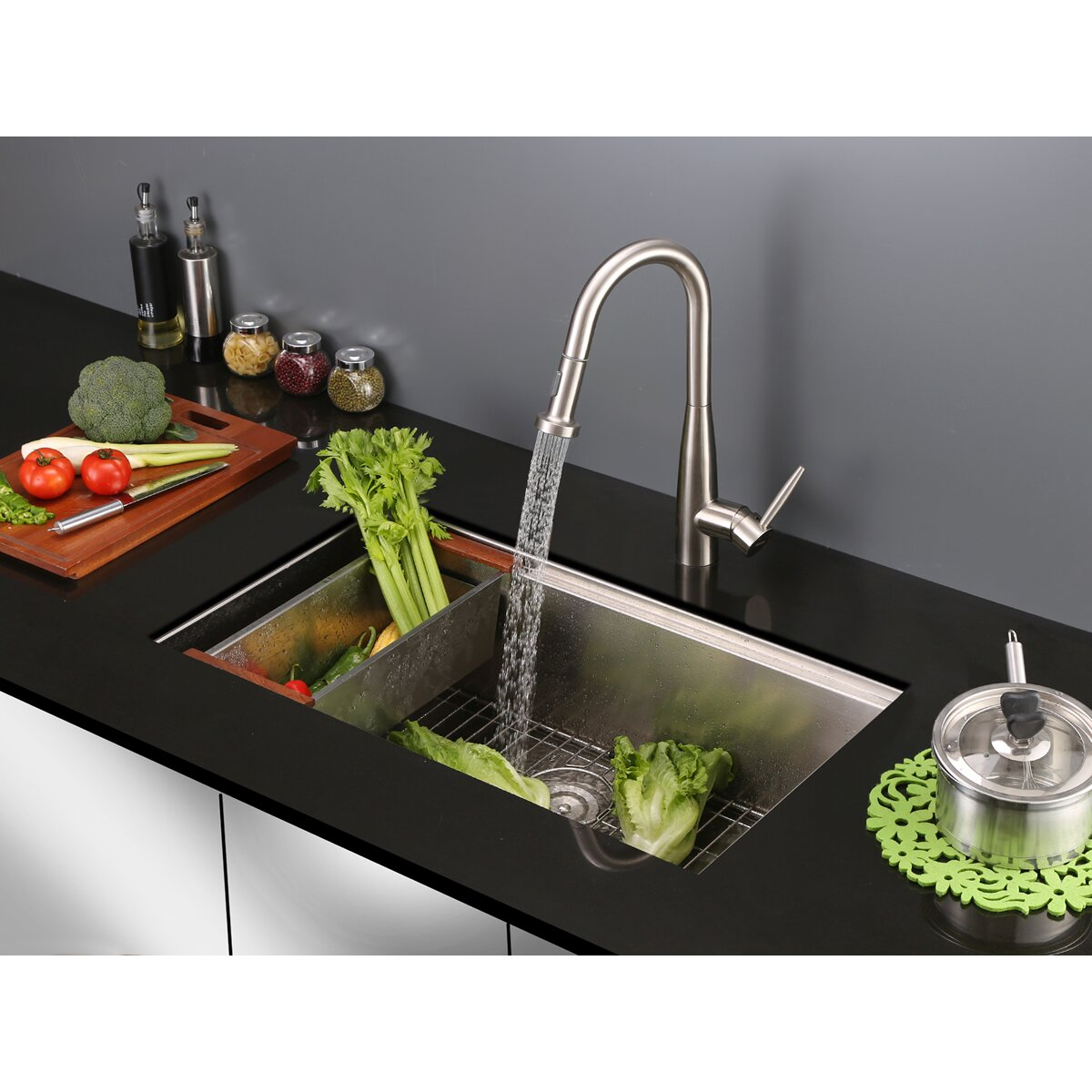 ruvati turino single handle kitchen faucet with pull out premier faucet waterfront single handle single hole