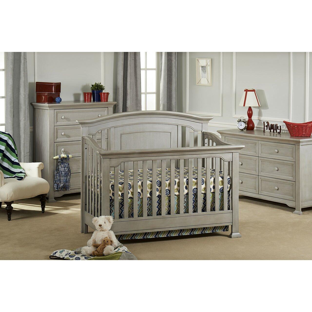 Baby bed furniture - Munir Eacute Medford Lifetime 4 In 1 Convertible Crib