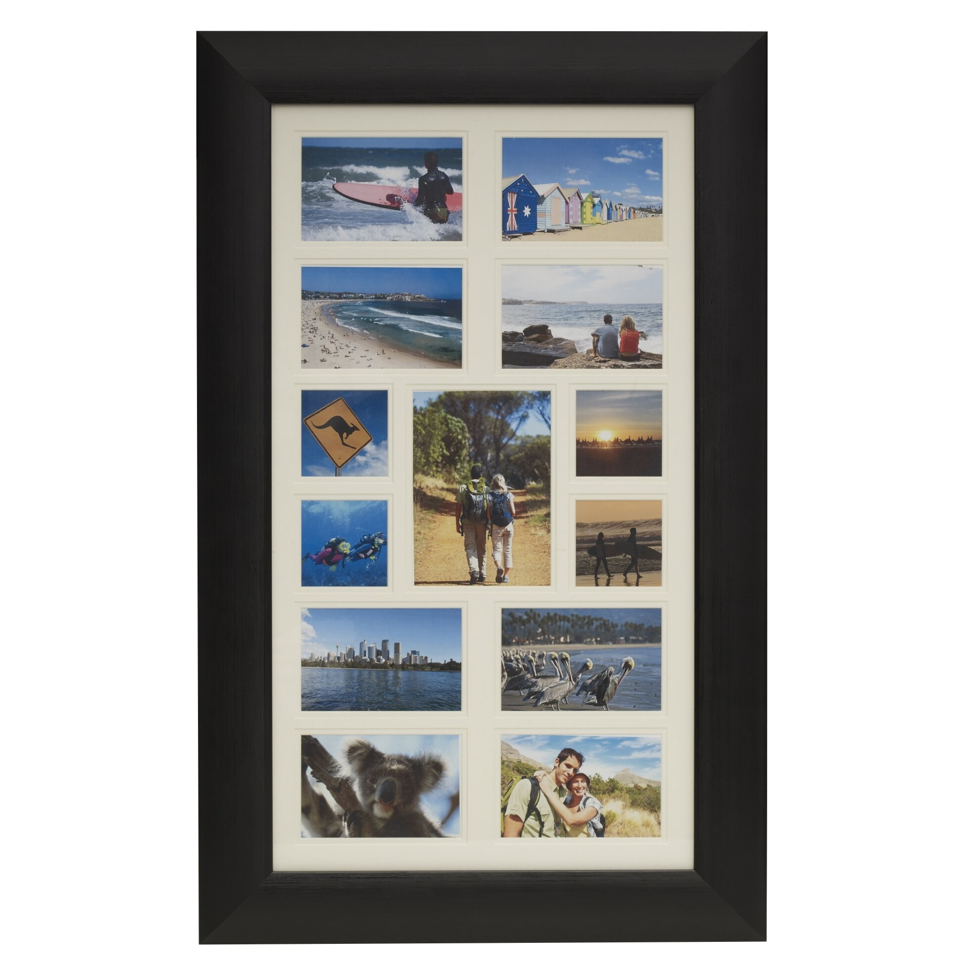 13 opening collage picture frame