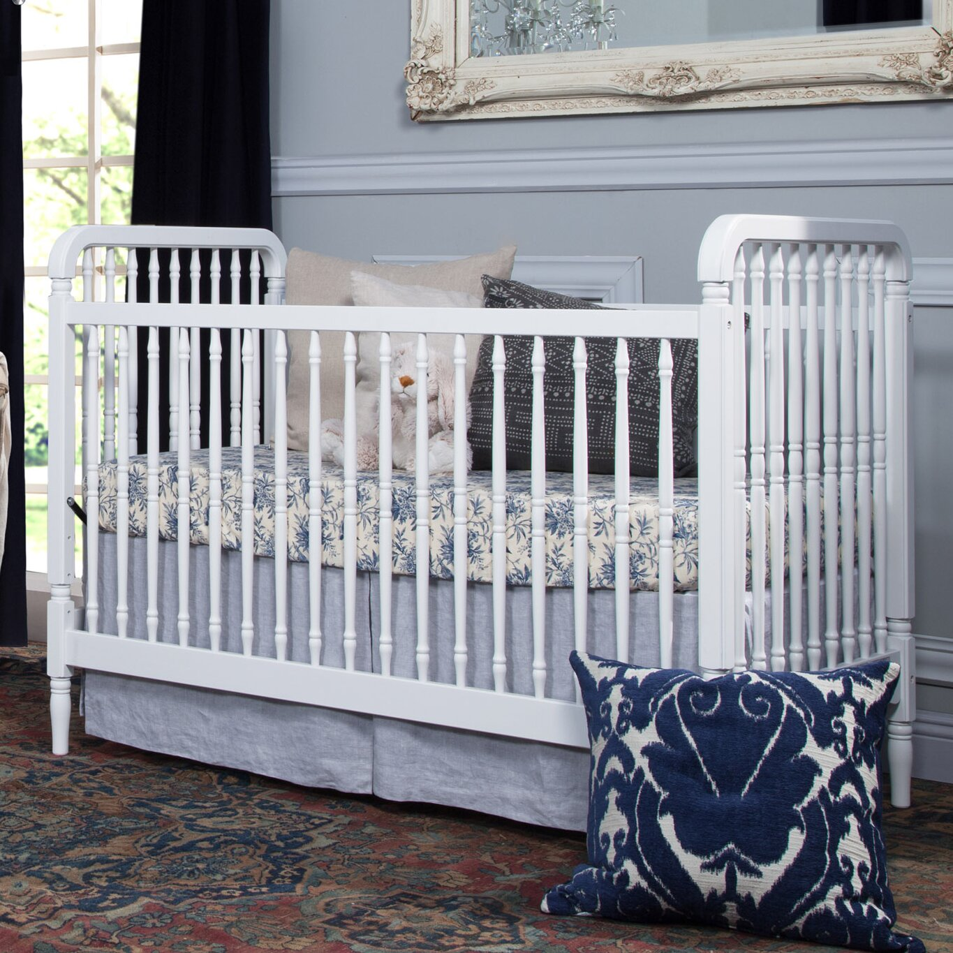 Baby cribs regulations canada - Million Dollar Baby Classic Liberty 3 In 1 Convertible Crib