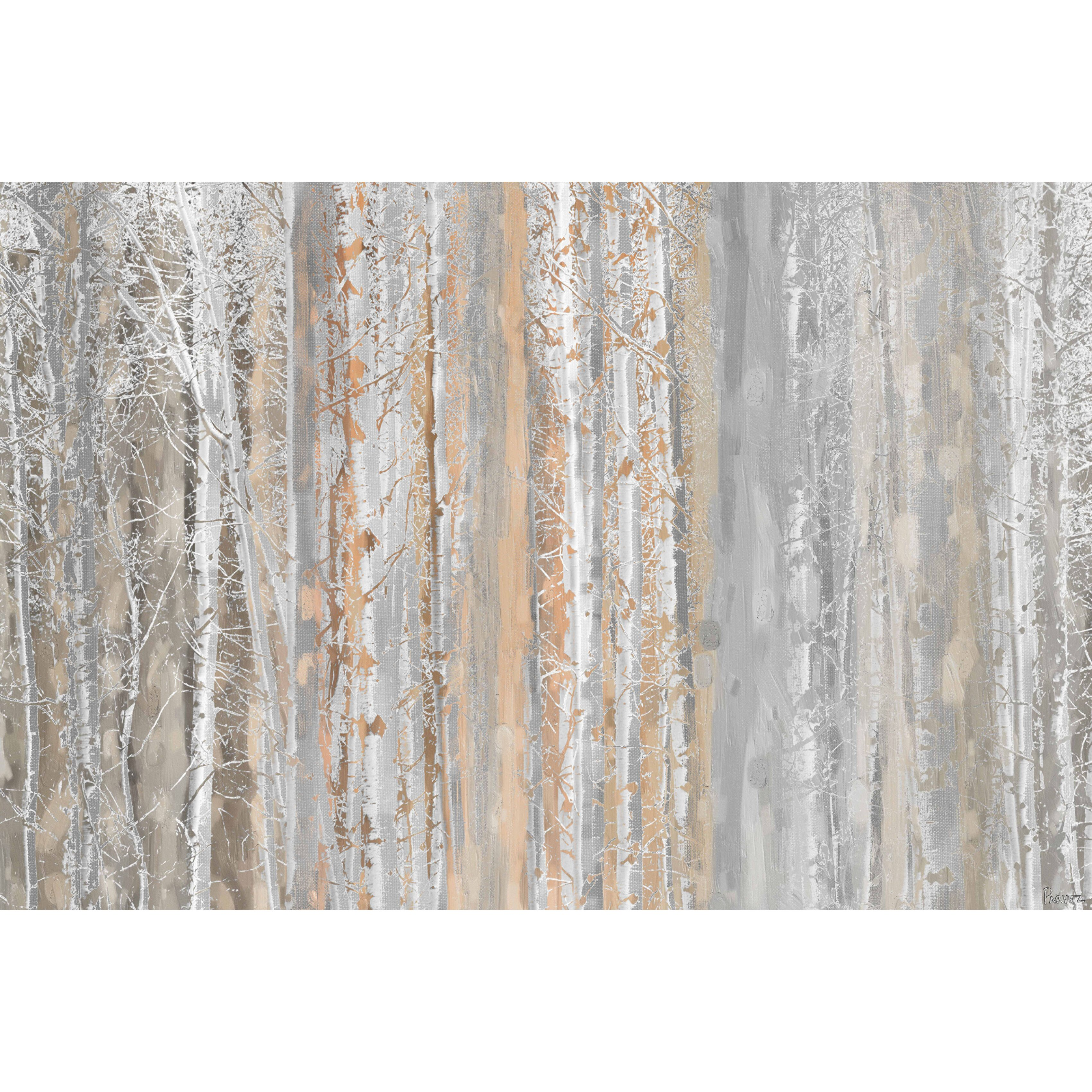 Color printing joliet - Marmont Hill Aspen Forest 1 Painting Print On Wrapped Canvas
