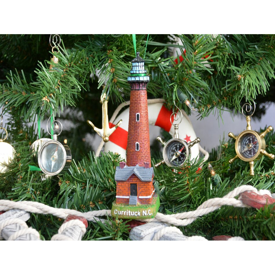 Handcrafted Nautical Decor Currituck Lighthouse Decoration