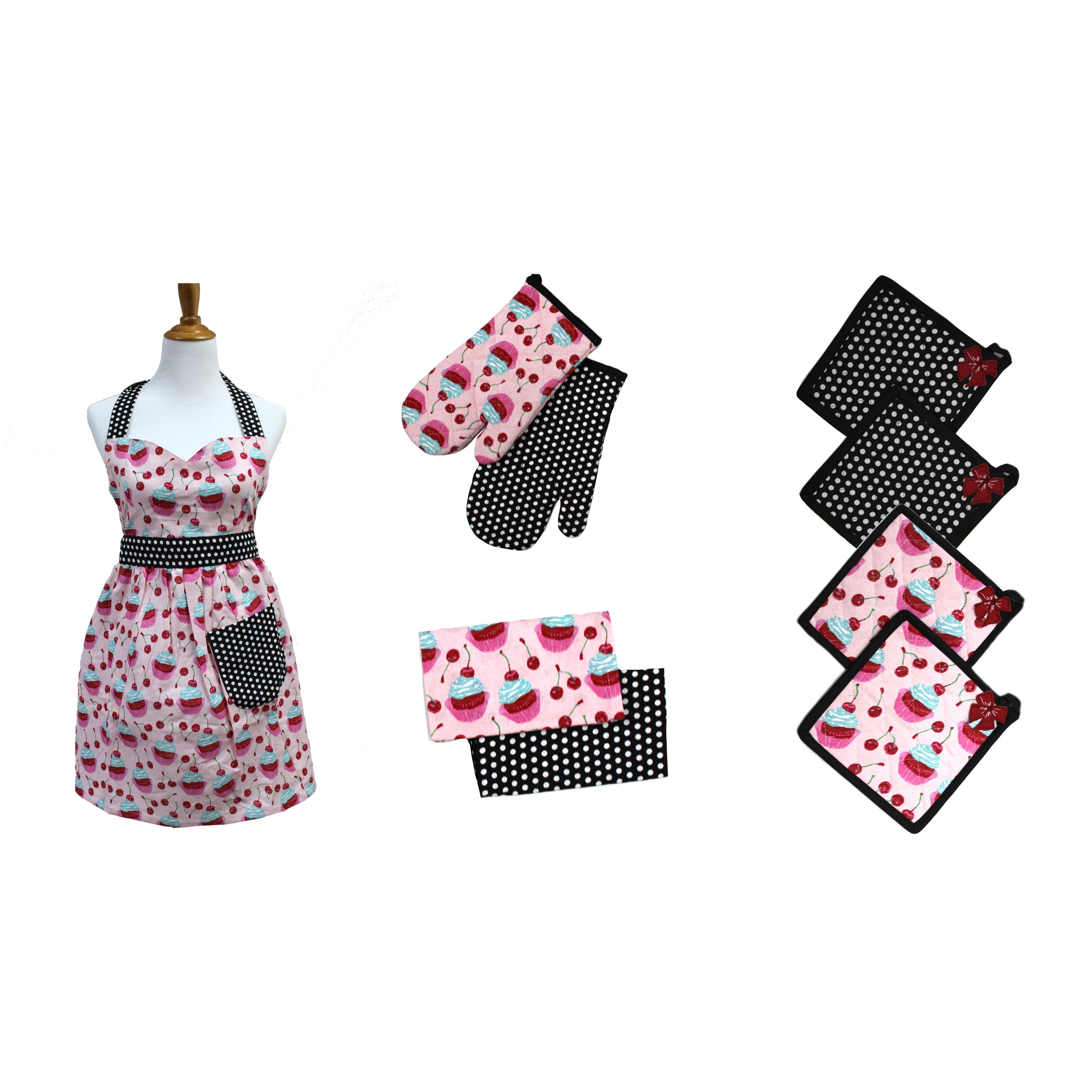 White apron gainesville fl - Colonial Textiles Pct 9 Piece Apron Set