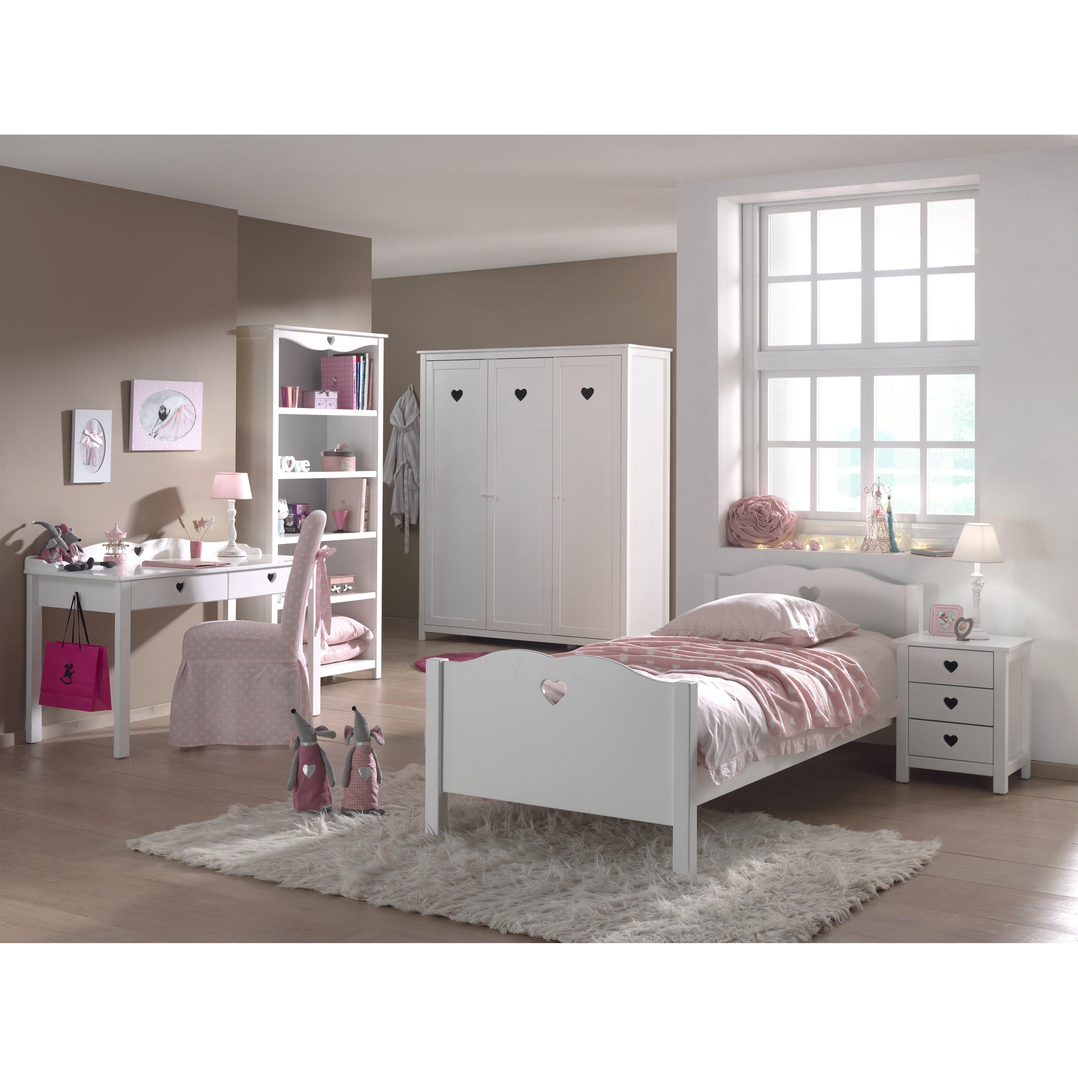 vipack amori 5 piece bedroom set